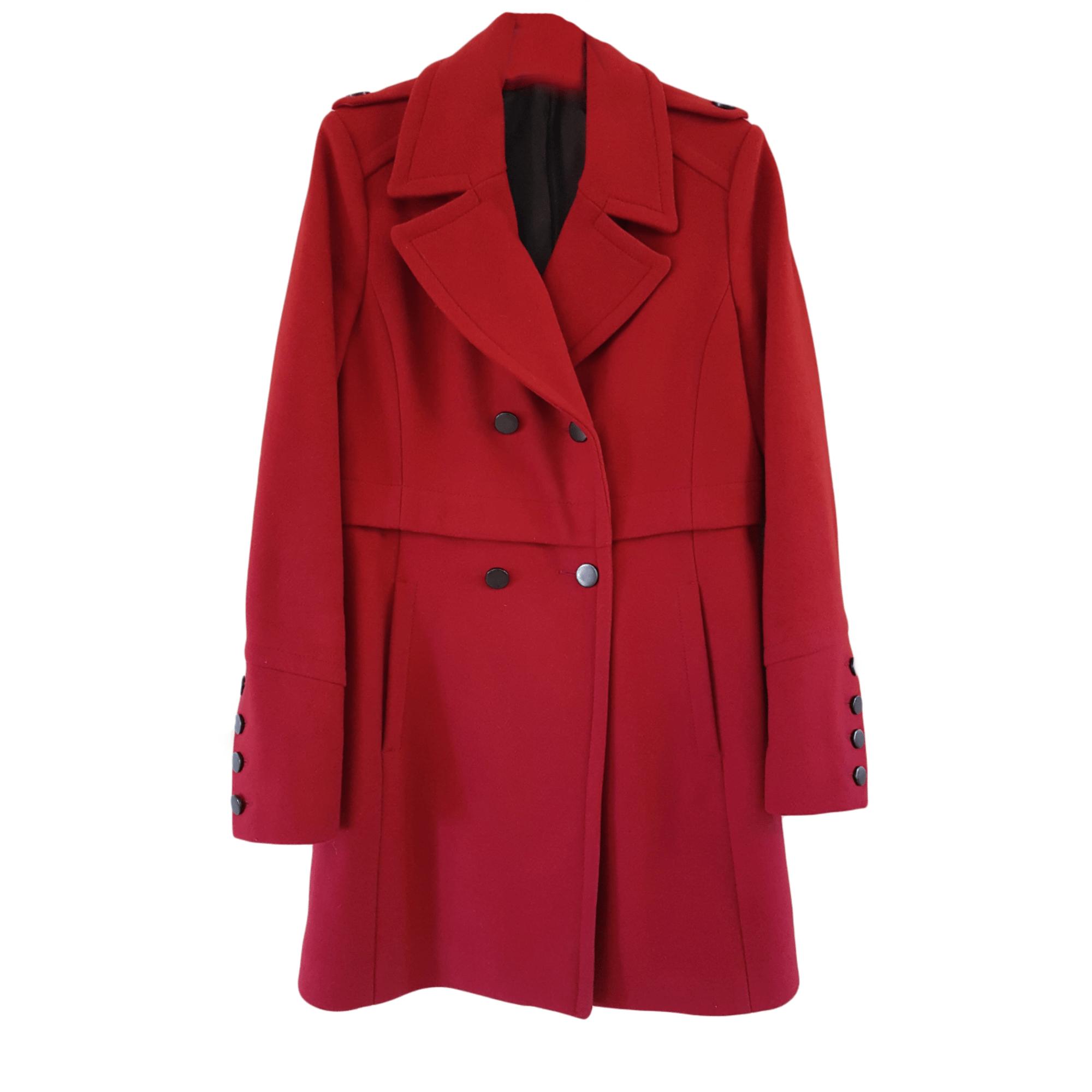 Manteau comptoir des cotonniers 40 l t3 rouge vendu par - Comptoir des cotonniers ch ...