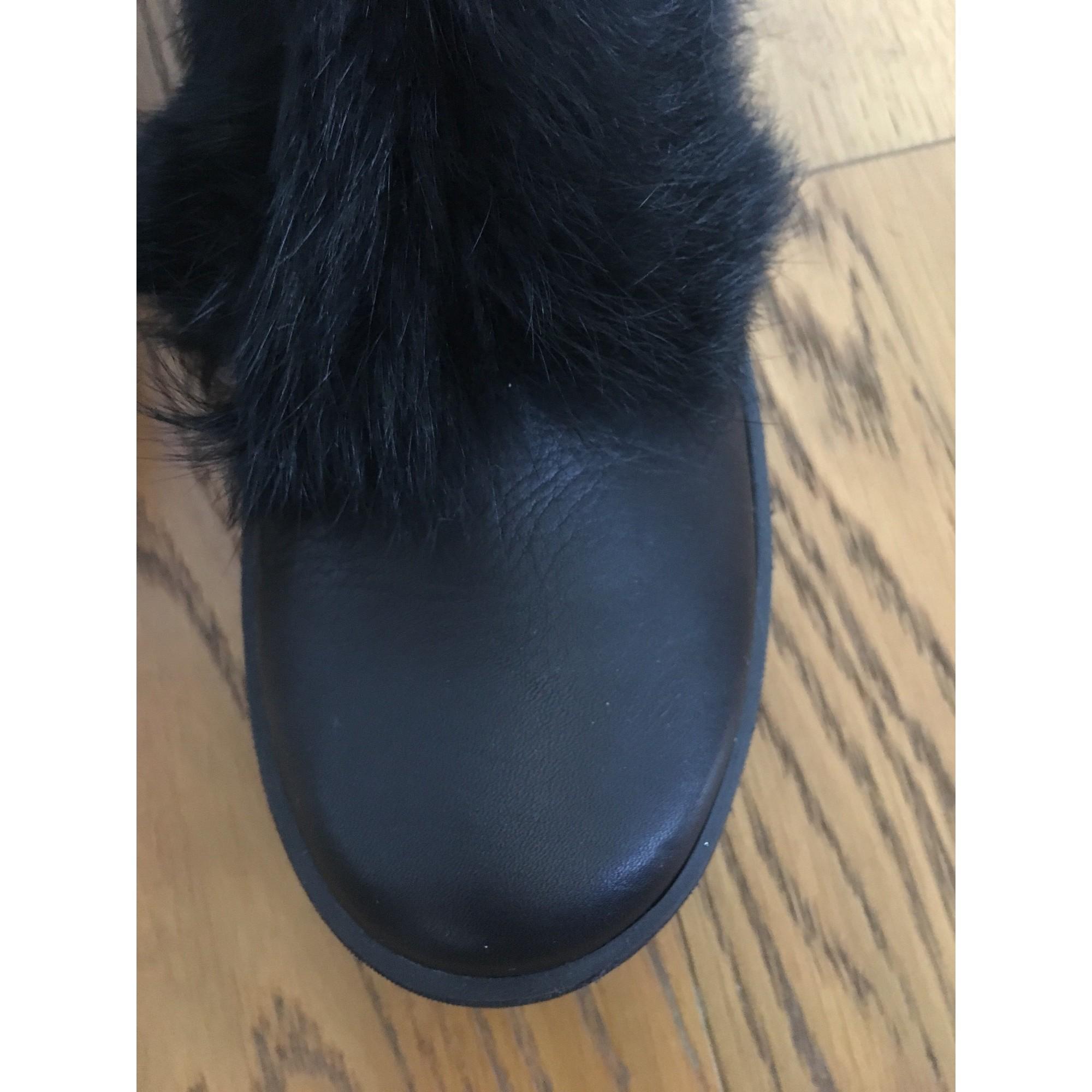 cf7083323a841 Bottines   low boots plates POM D API 37 noir vendu par Marie ...
