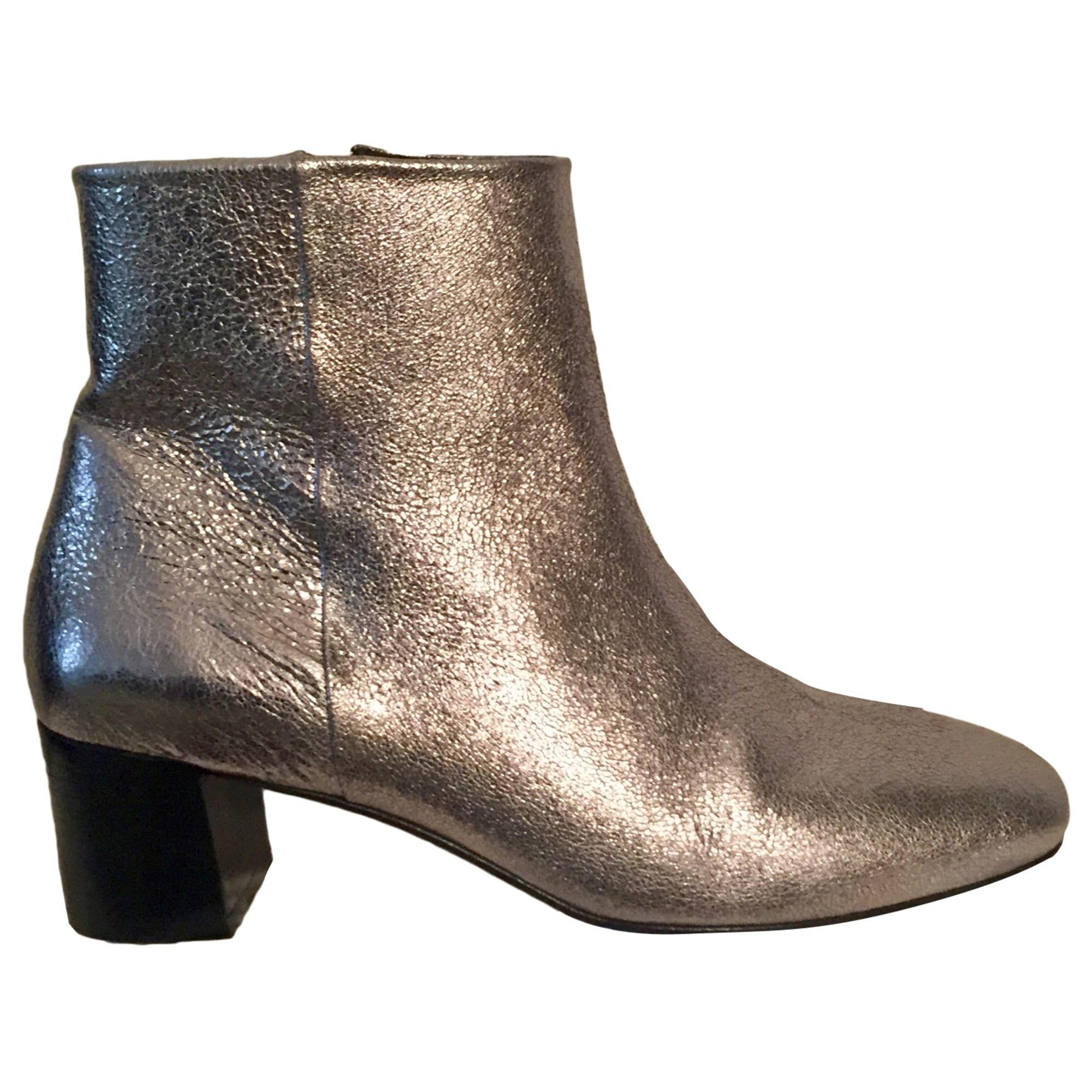 High Heel Ankle Boots CLAUDIE PIERLOT Silver