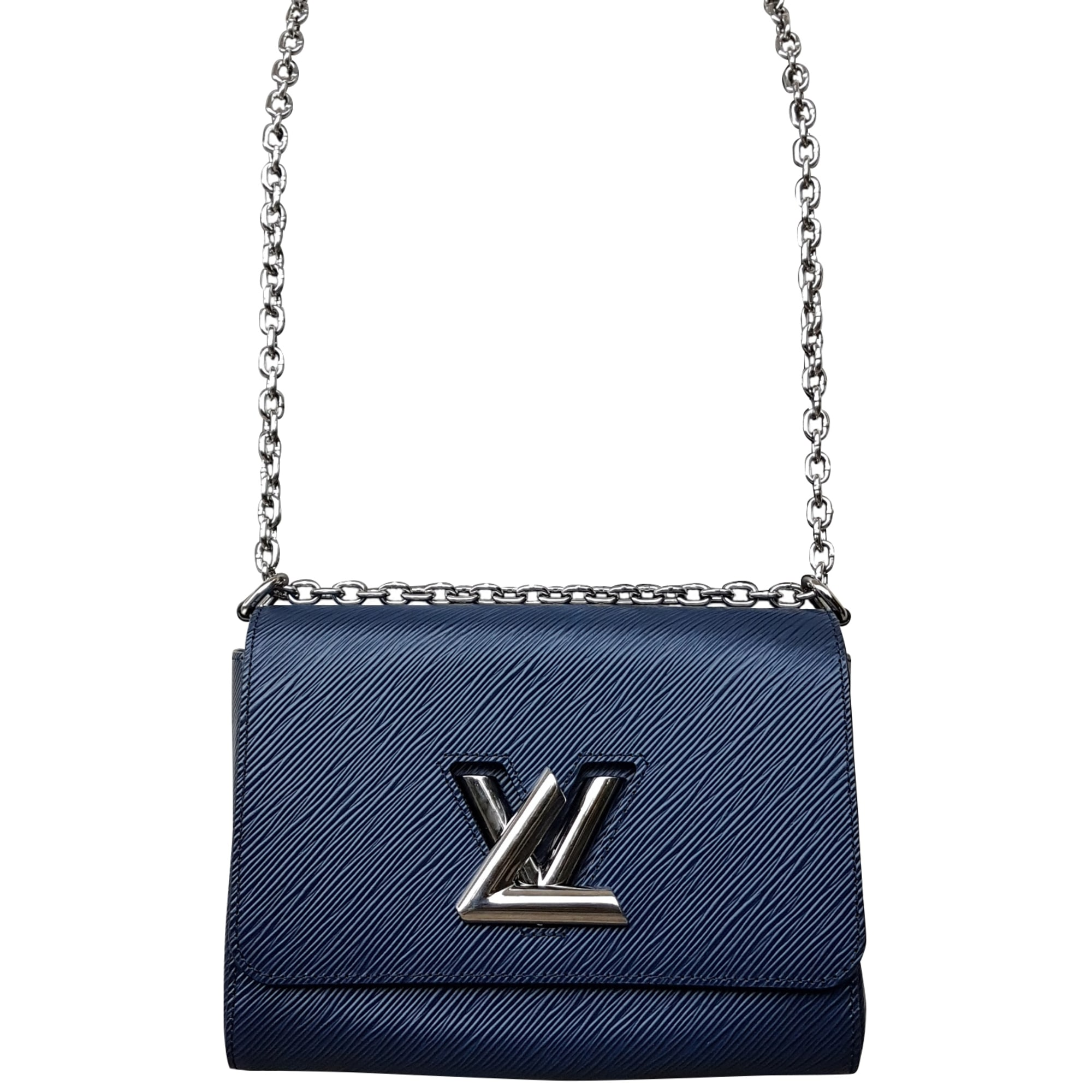 3757c46076f Sac à main en cuir LOUIS VUITTON twist bleu vendu par Ricar - 6757558