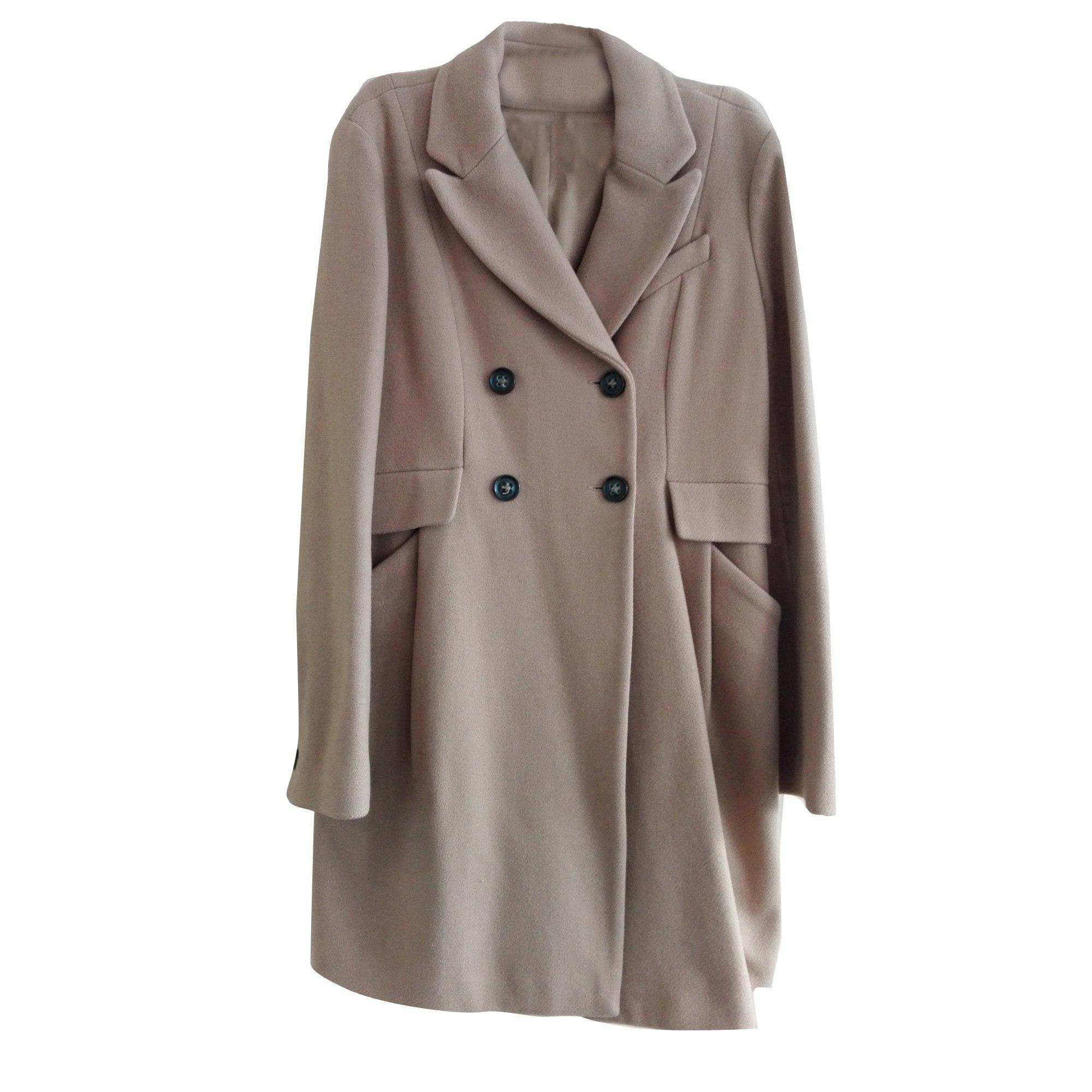 Manteau comptoir des cotonniers 40 l t3 beige vendu par - Comptoir des cotonniers ch ...
