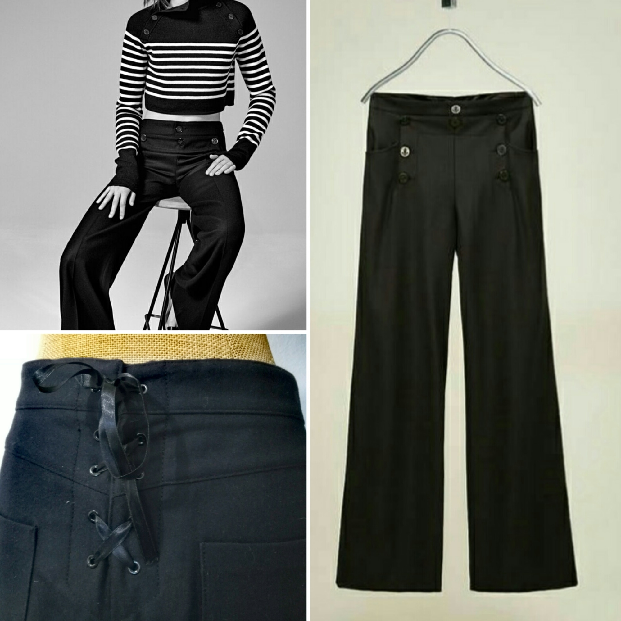 43a35bae5 Pantalon large