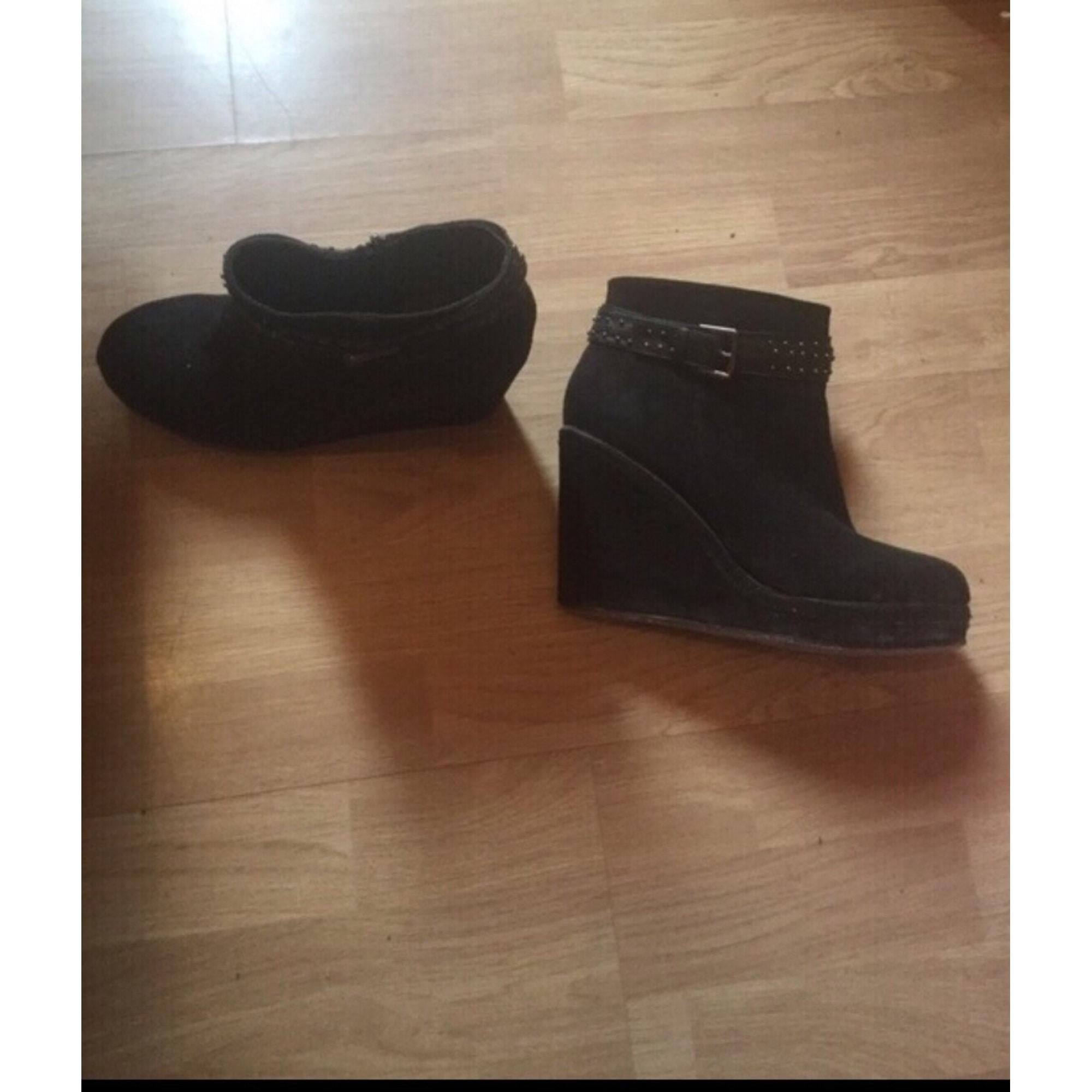 à compensés Bottineslow boots Bottineslow compensés à boots 76gbfy