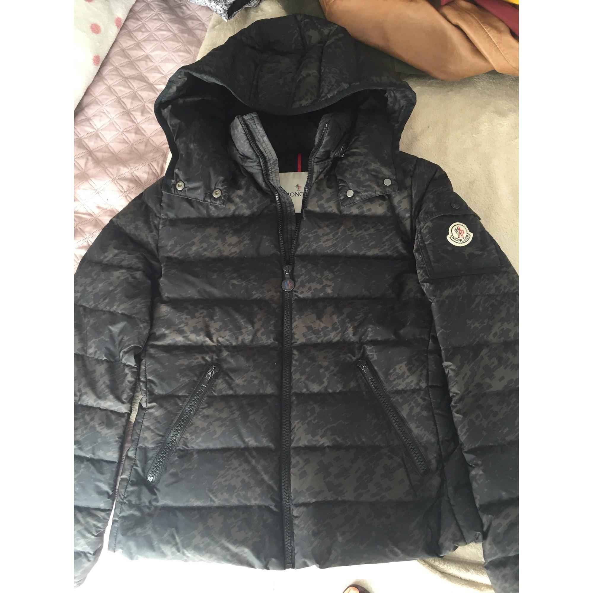 Doudoune MONCLER 13-14 ans noir vendu par Anthony 300 - 6778366 1e13095dfd0