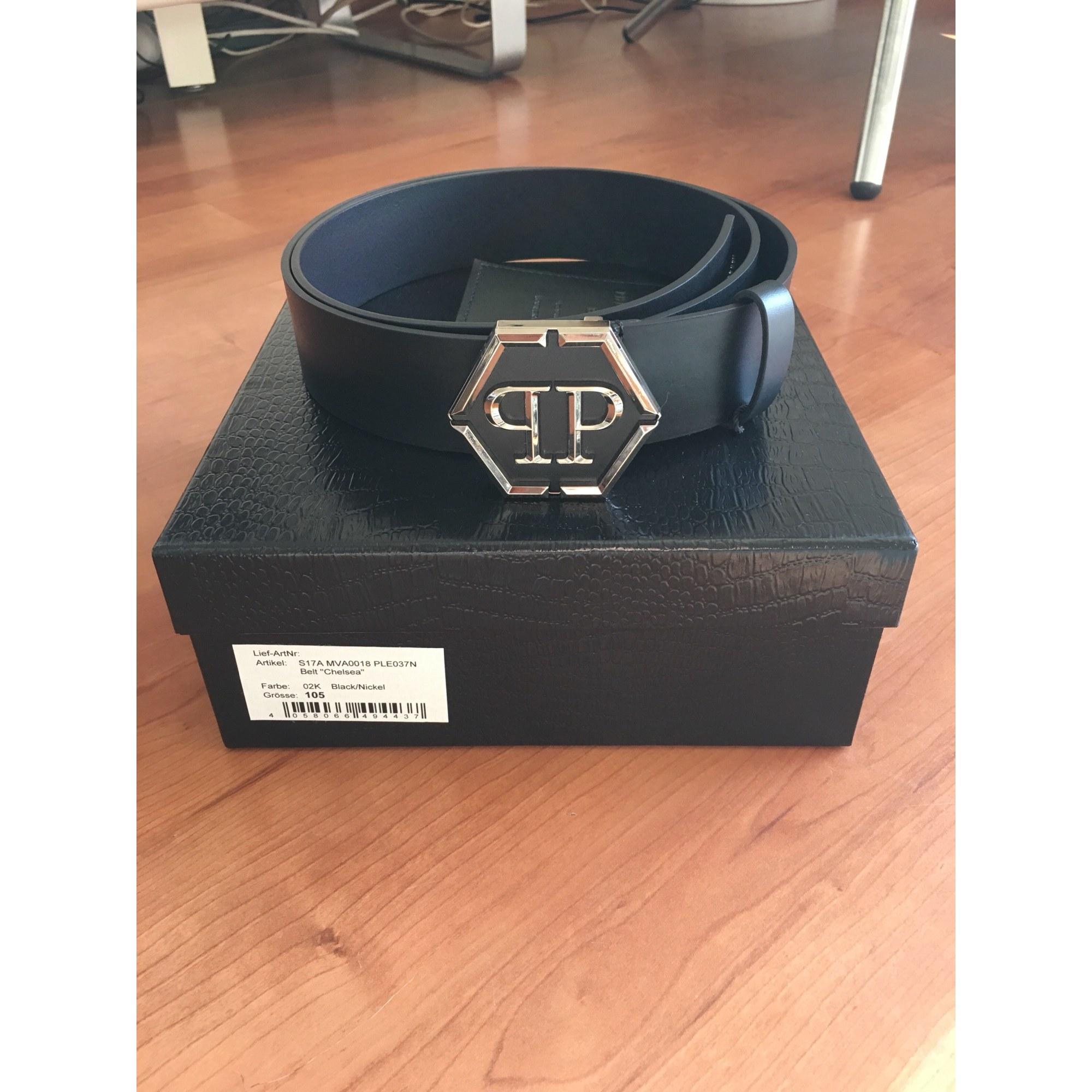 Ceinture PHILIPP PLEIN 105 noir vendu par Adz23 - 6779623 4ab65e1aa68f