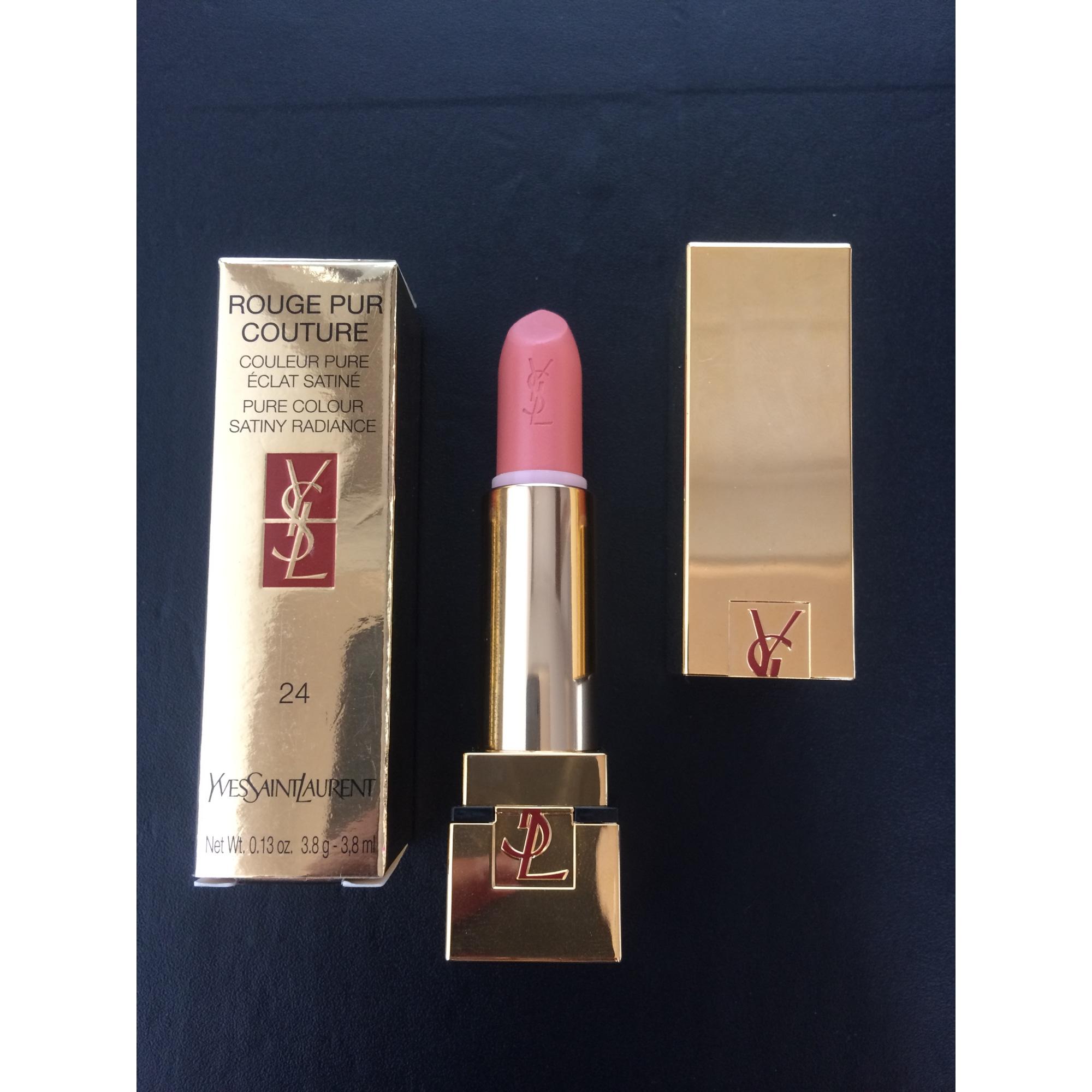 Complètement et à l'extrême Rouge à lèvres YVES SAINT LAURENT rose pastel vendu par Irisparis &DV_24