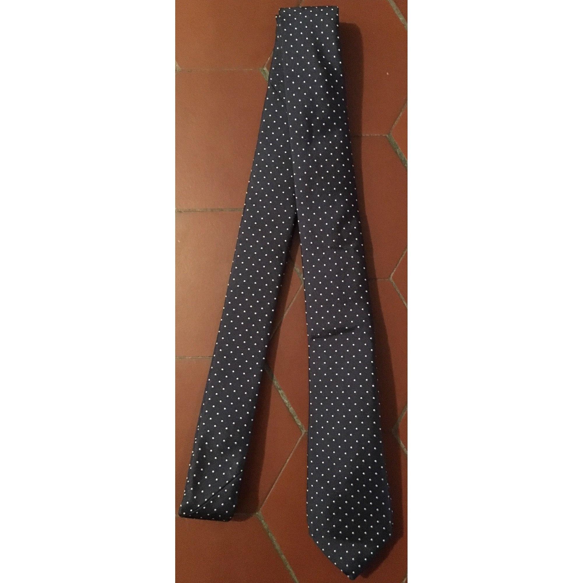 Cravate ALAIN FIGARET Bleu, bleu marine, bleu turquoise
