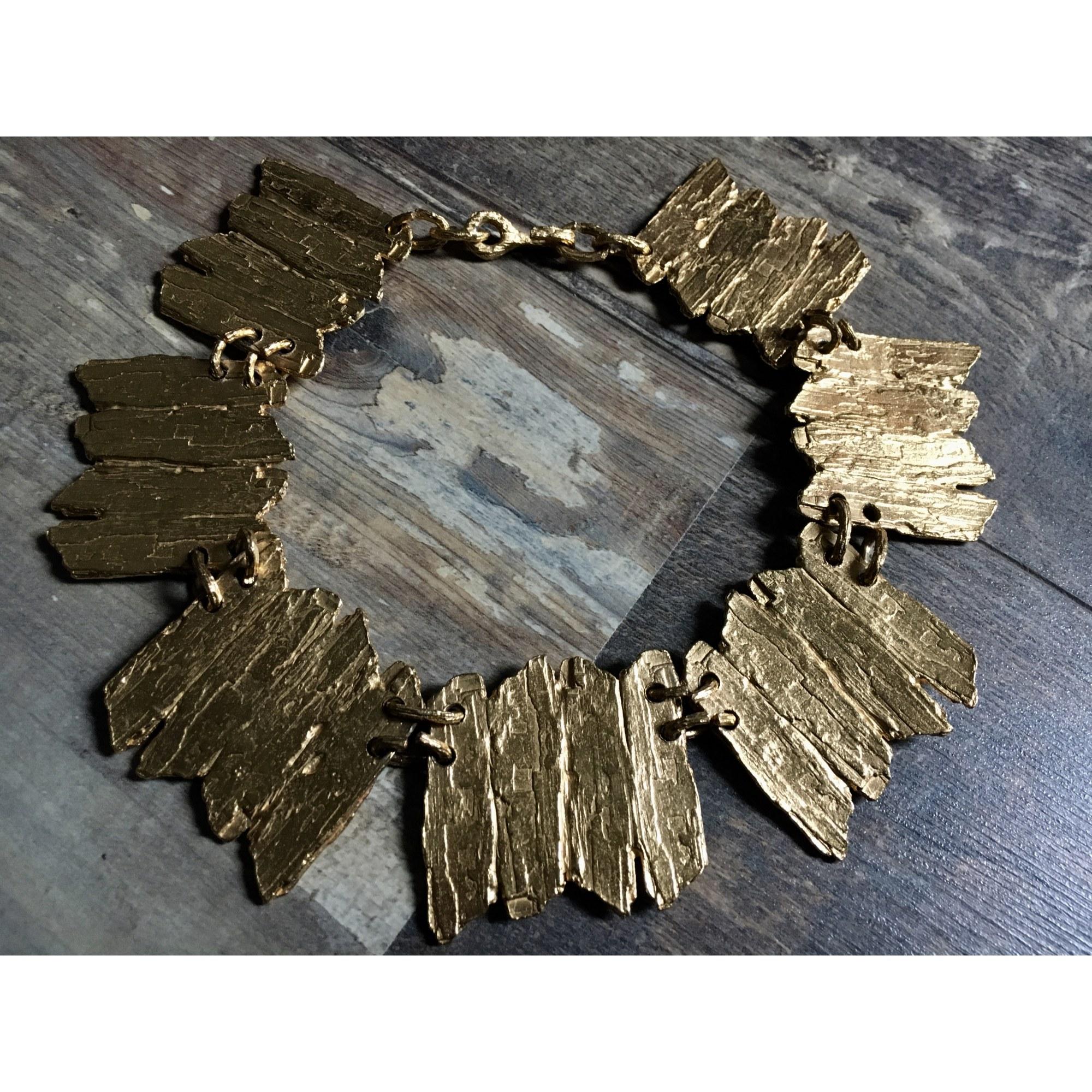 Collier BICHE DE BÈRE métal doré