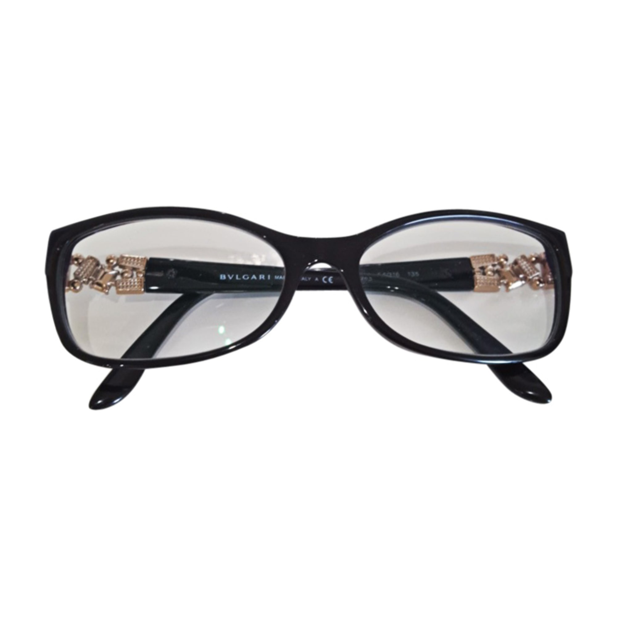 61b1720c275e Monture de lunettes BULGARI noir vendu par Jess lou - 6823341