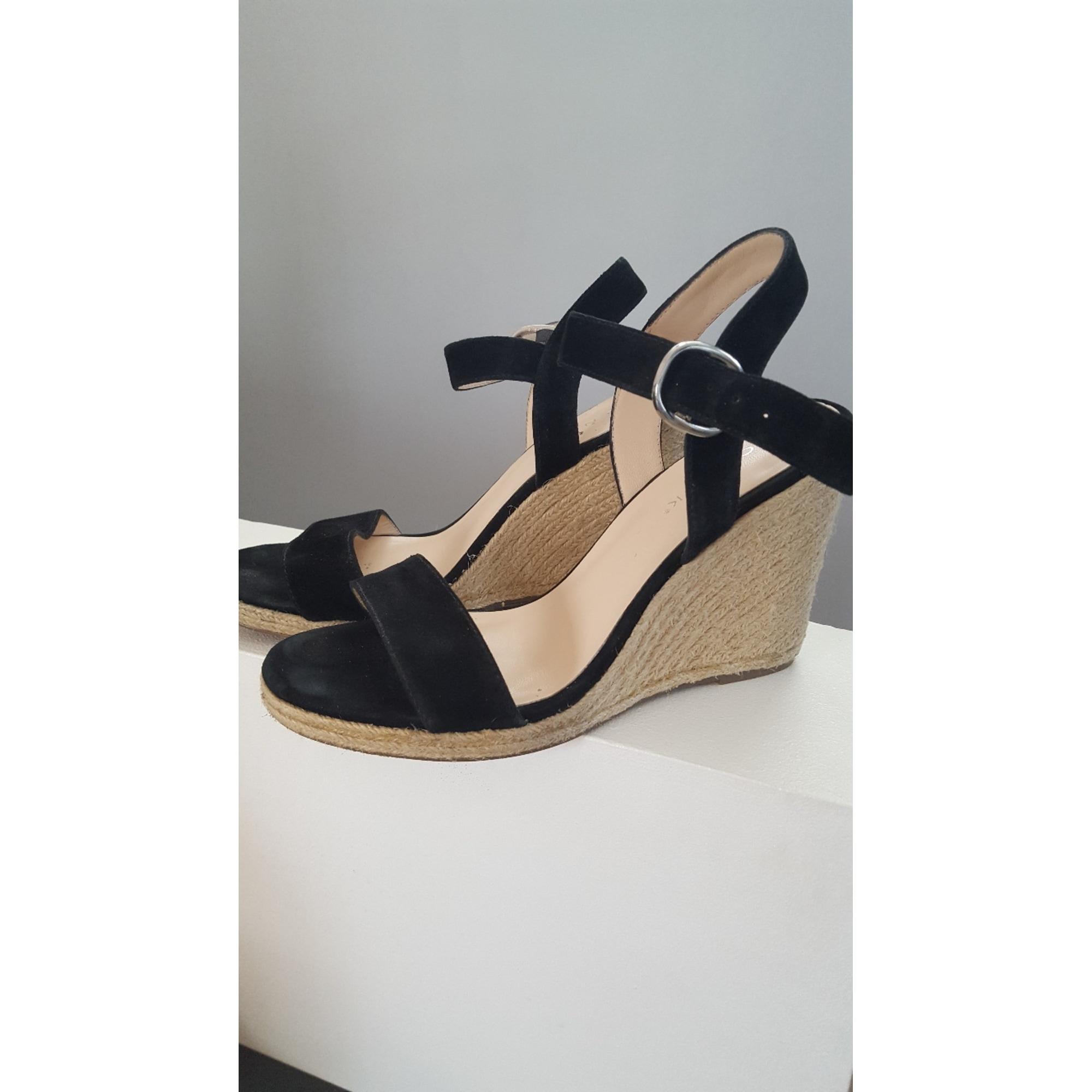 72196cc53e0 Sandales compensées JONAK 38 noir - 6824842