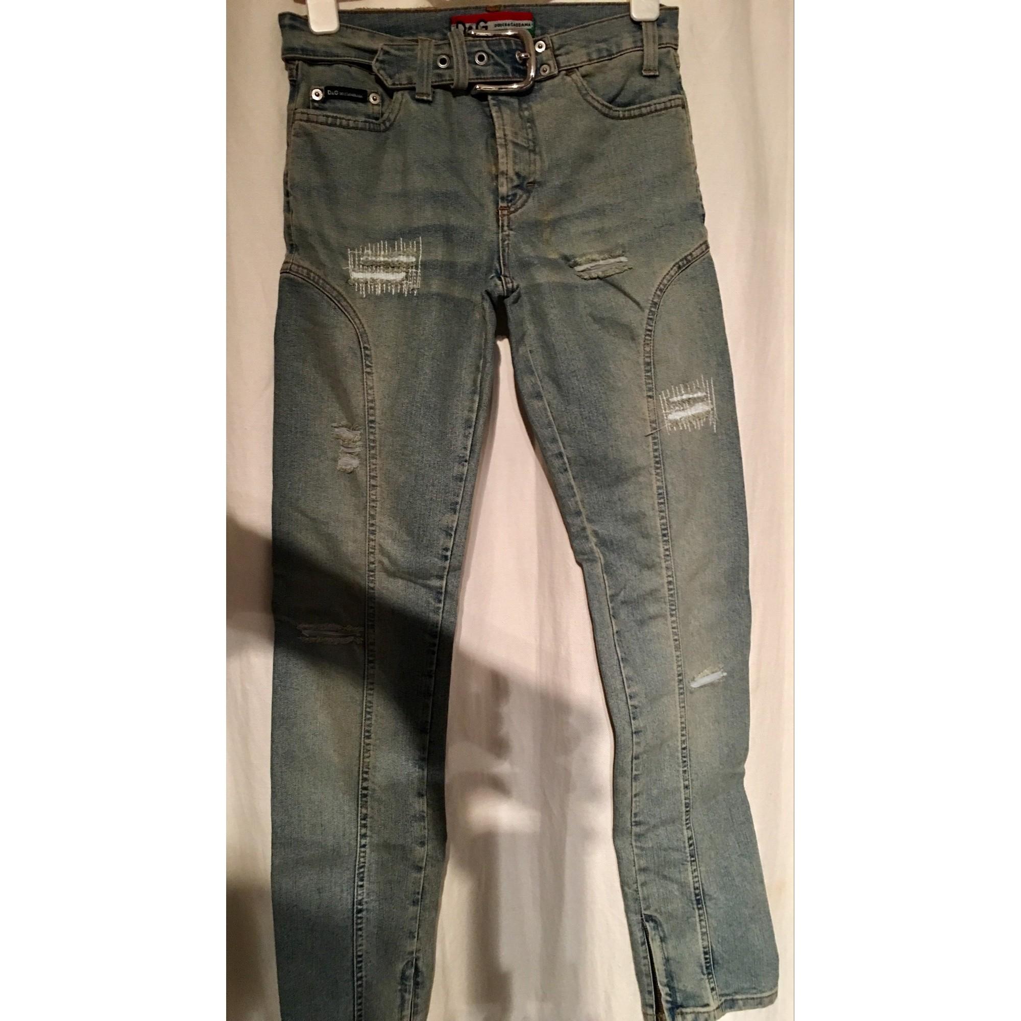 Jeans slim D G Bleu, bleu marine, bleu turquoise eab62f7551dc