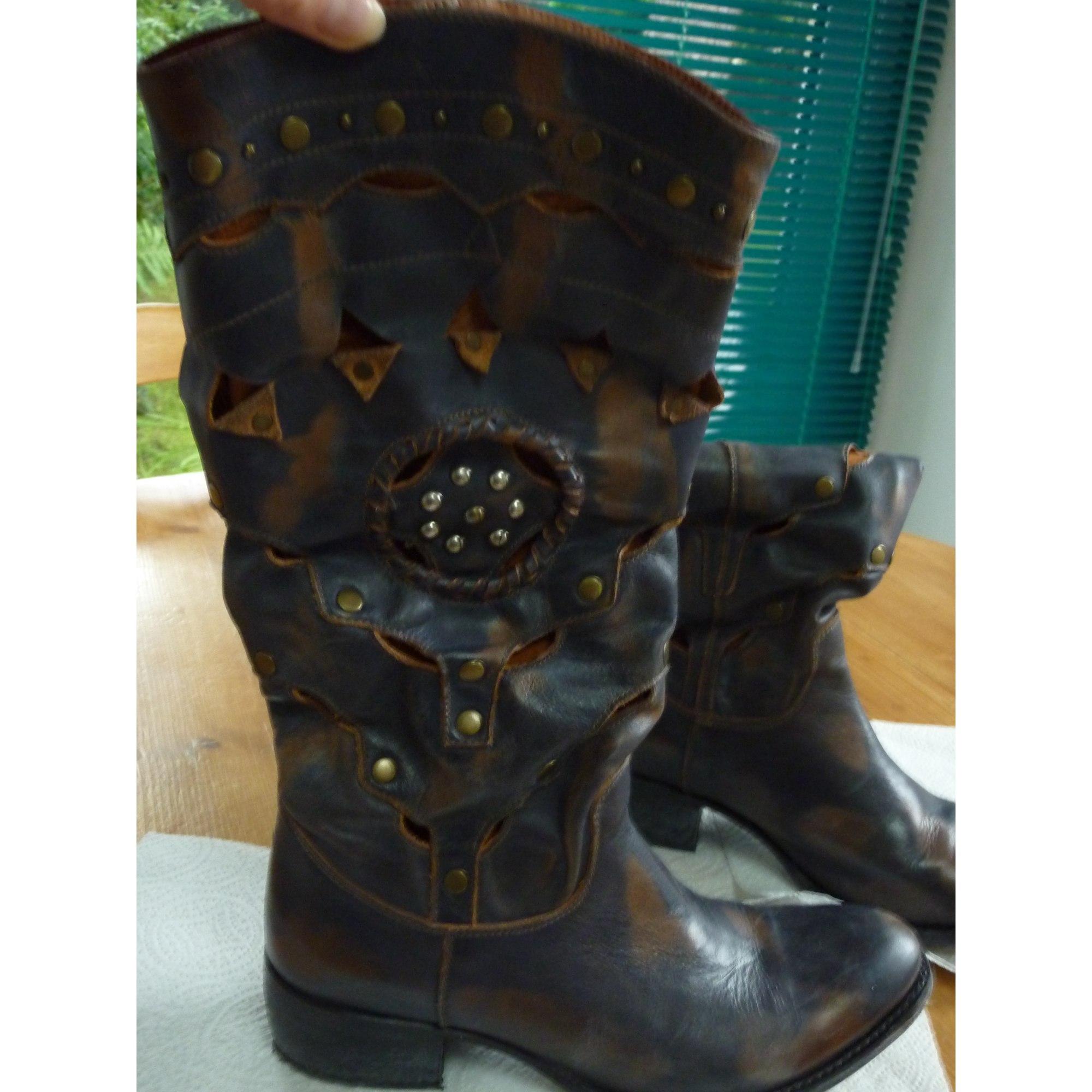 37 Santiags 6836735 Bottines Bleu Cowboy Sendra Low Boots wwRqnZXP