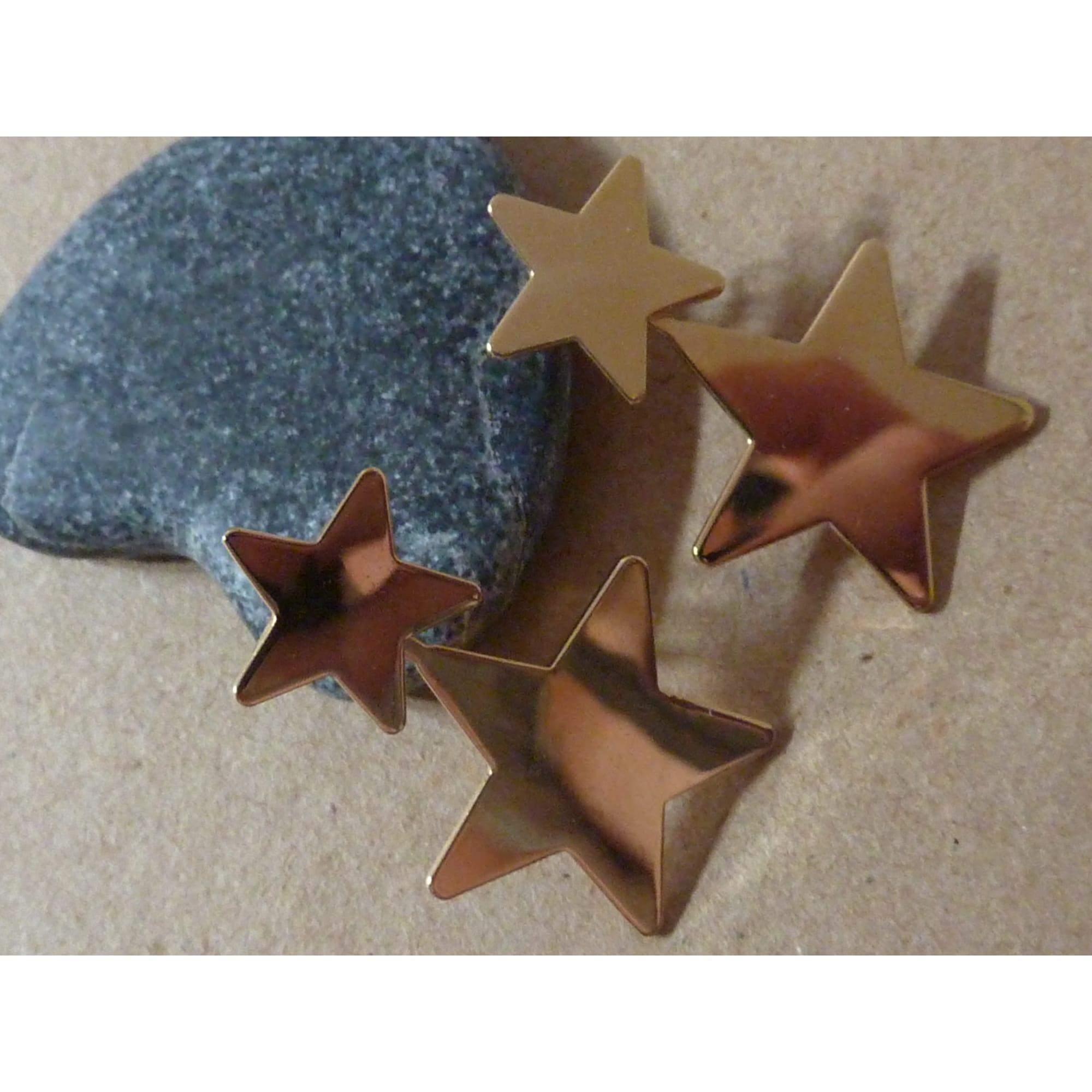 Boucles d'oreille NADINE S métal doré