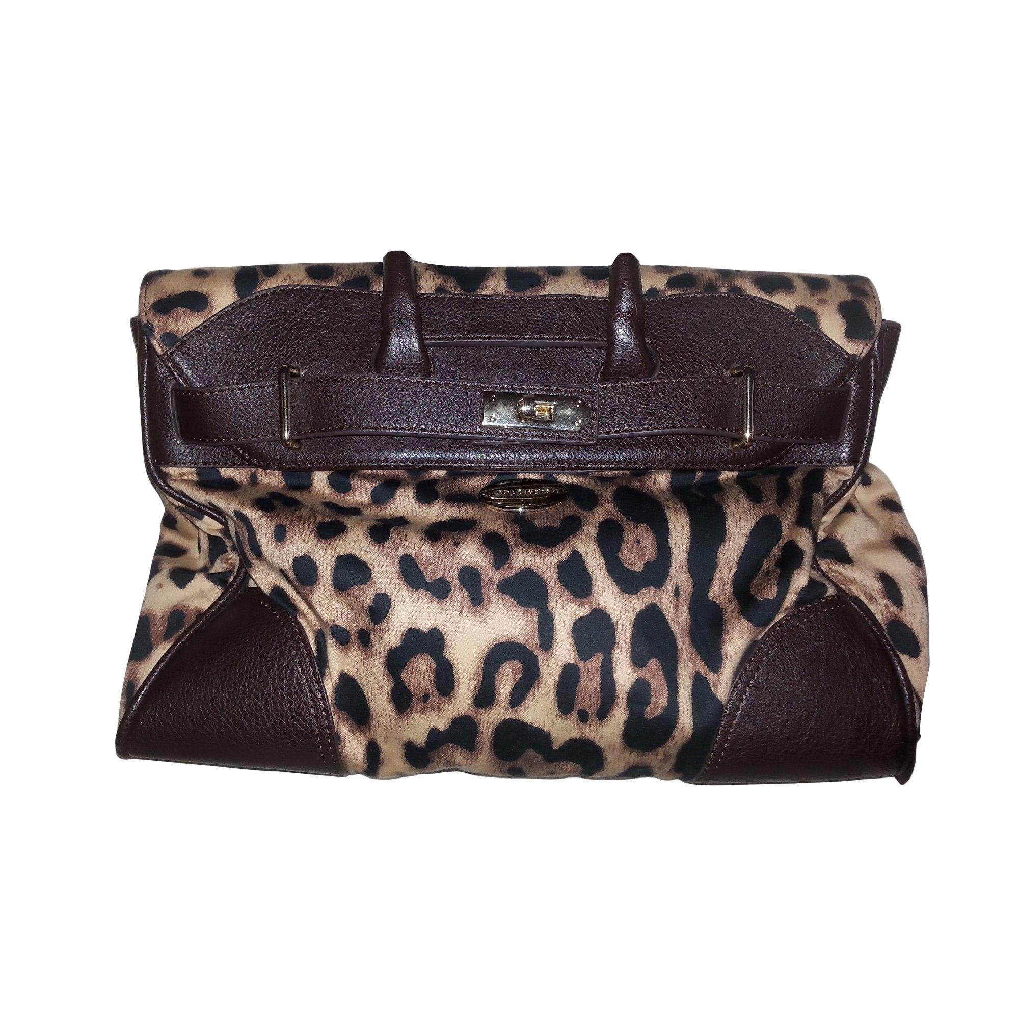 d01d9eaf910 Sac à main en cuir MAC DOUGLAS marron et leopard vendu par Gauthiere ...