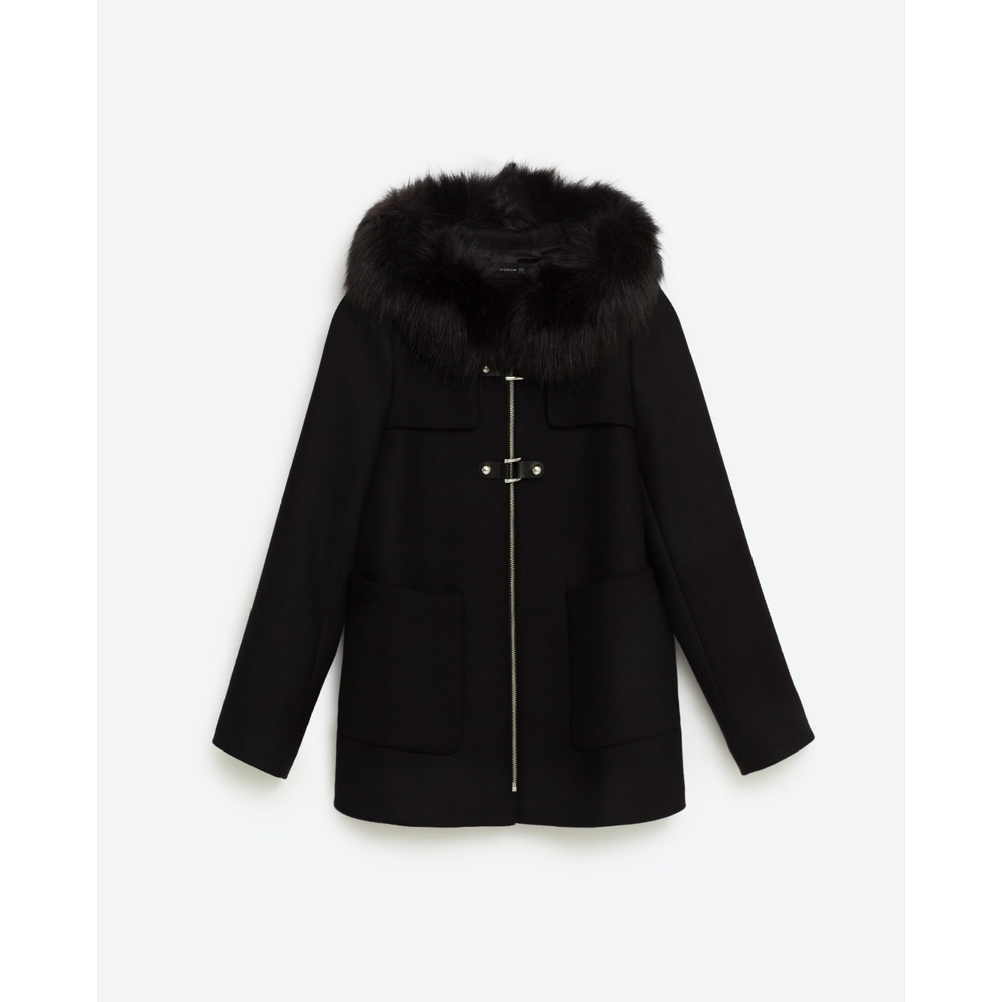 Zara 40 6860805 Coat Black T3 Vendu Dutertre72 Par l 4Pwdwq