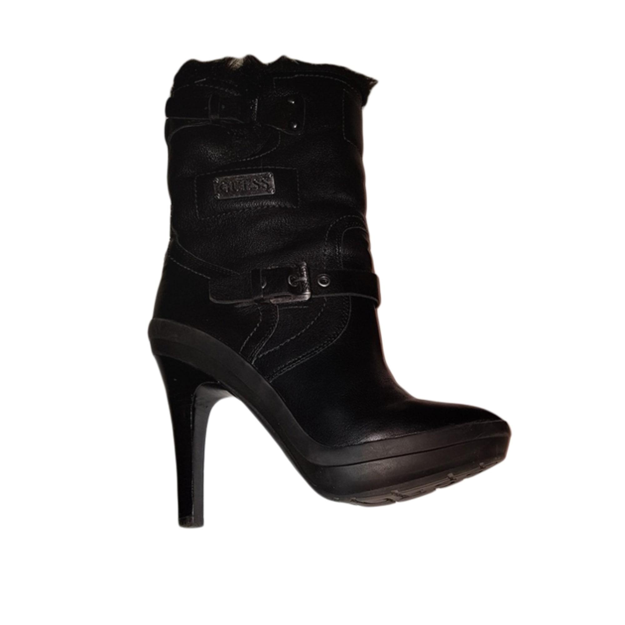 7e495b2056 Bottines & low boots à talons GUESS 39 noir - 6863279