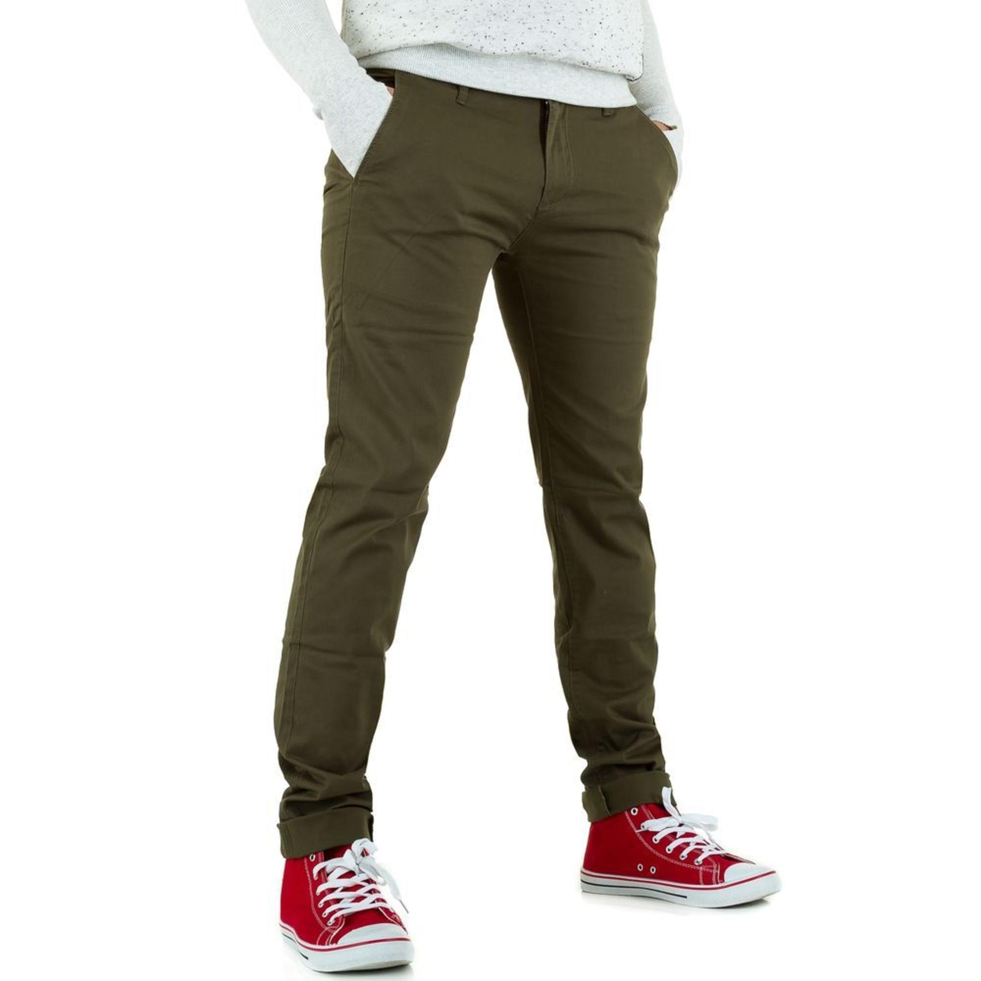 fdd8982de493b Pantalon slim BRUNO LEONI DENIM 44 (XL) kaki - 6872165