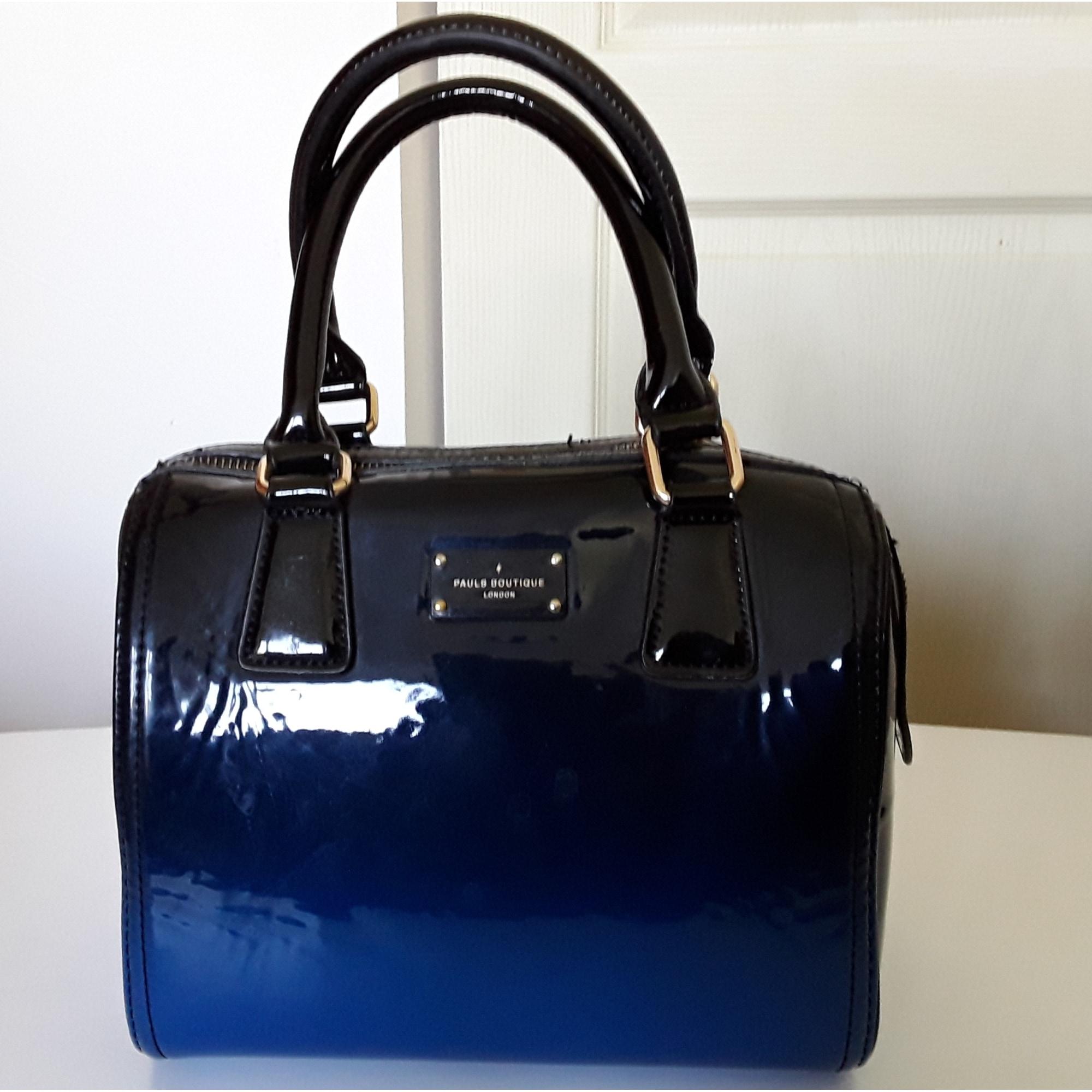 35bd490ff1c Sac à main en cuir PAUL S BOUTIQUE bleu - 6876598