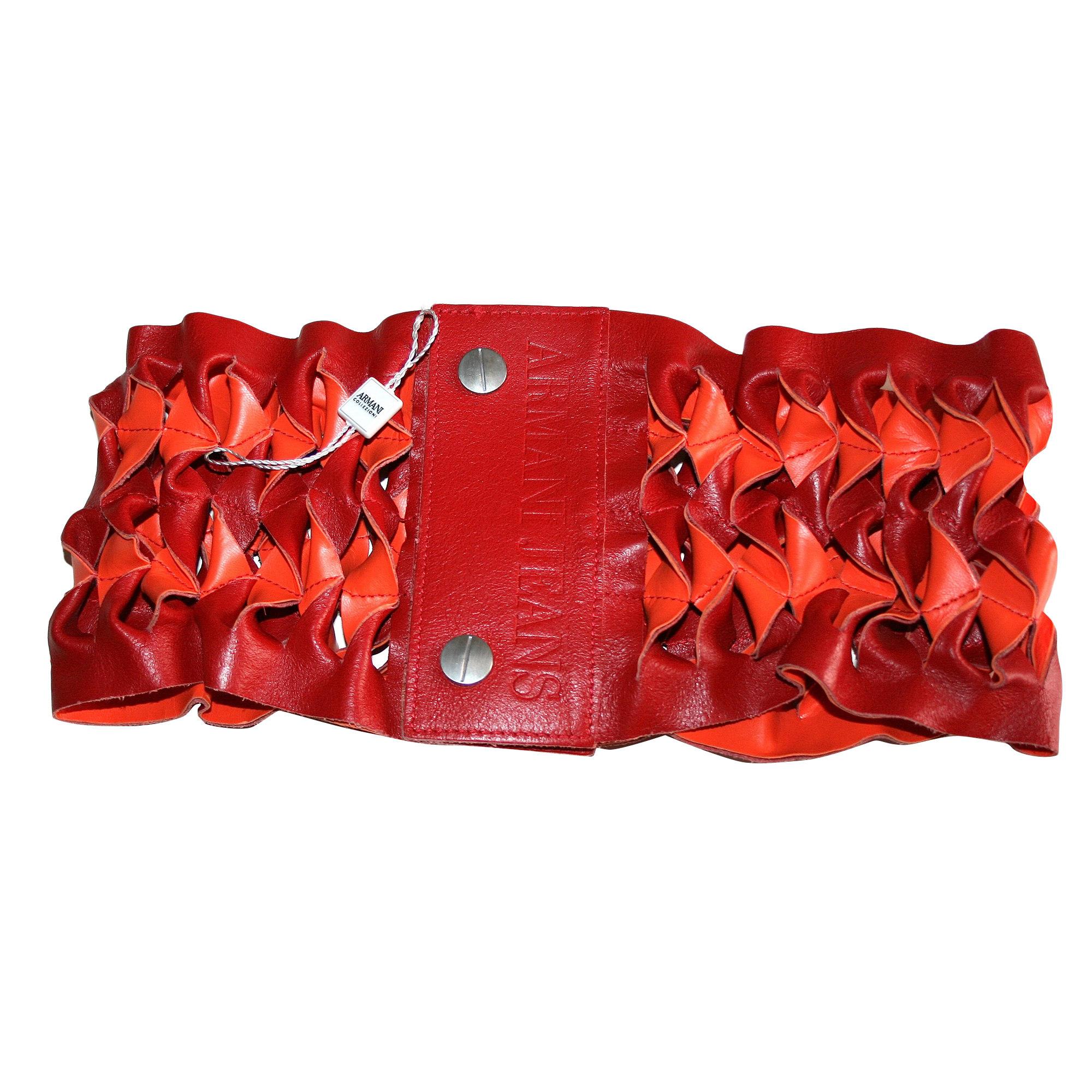 12b2f2fb8a5a Ceinture large ARMANI JEANS Autre rouge - 6877760