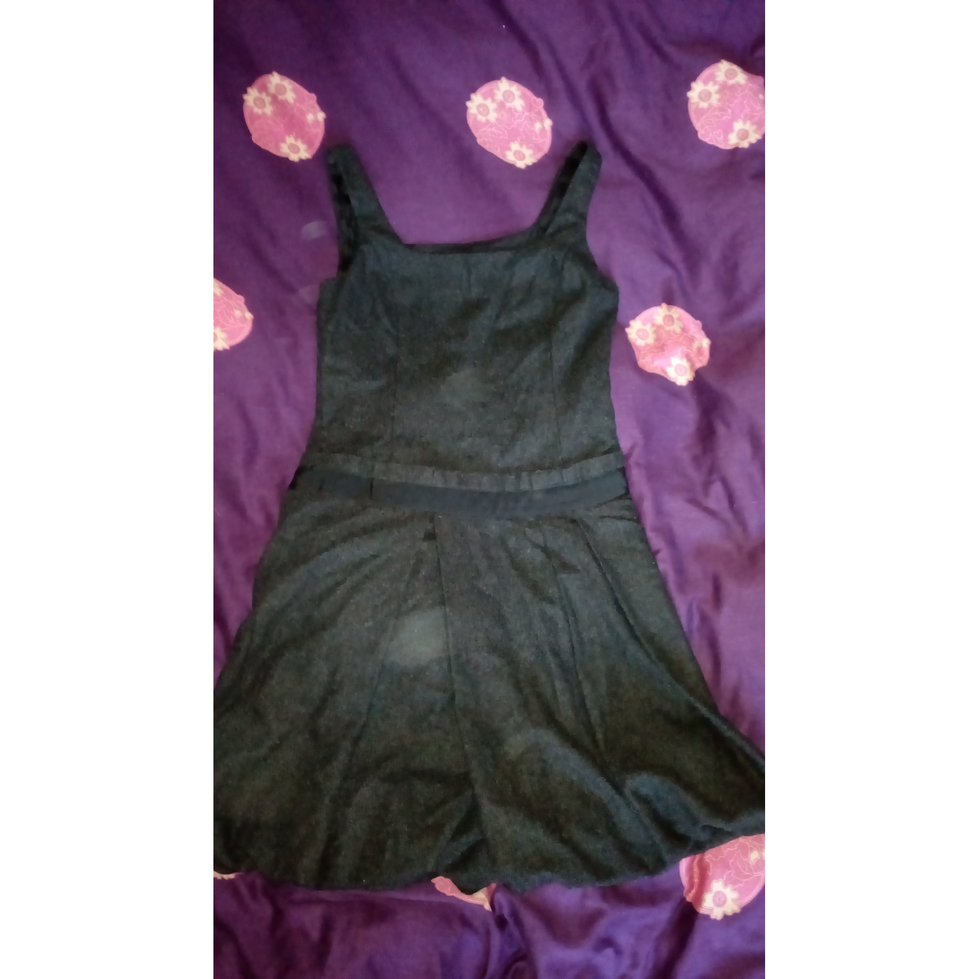 Robe courte UNITED COLORS OF BENETTON Gris, anthracite