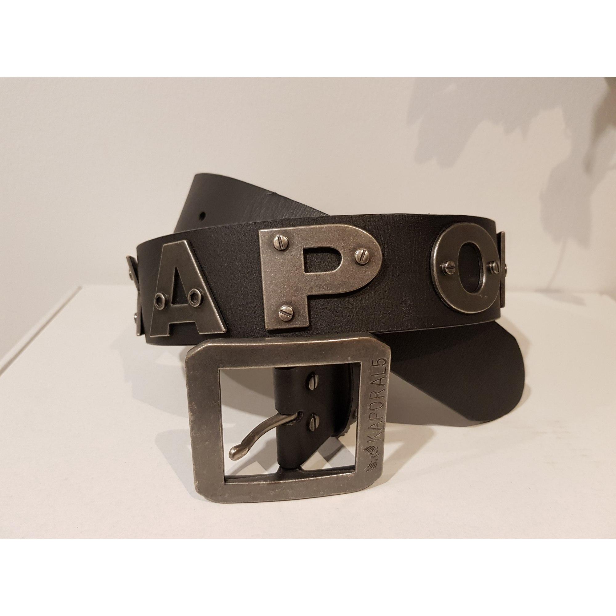b95795f92694c Ceinture KAPORAL 90 noir vendu par Rainbow13 - 6892298