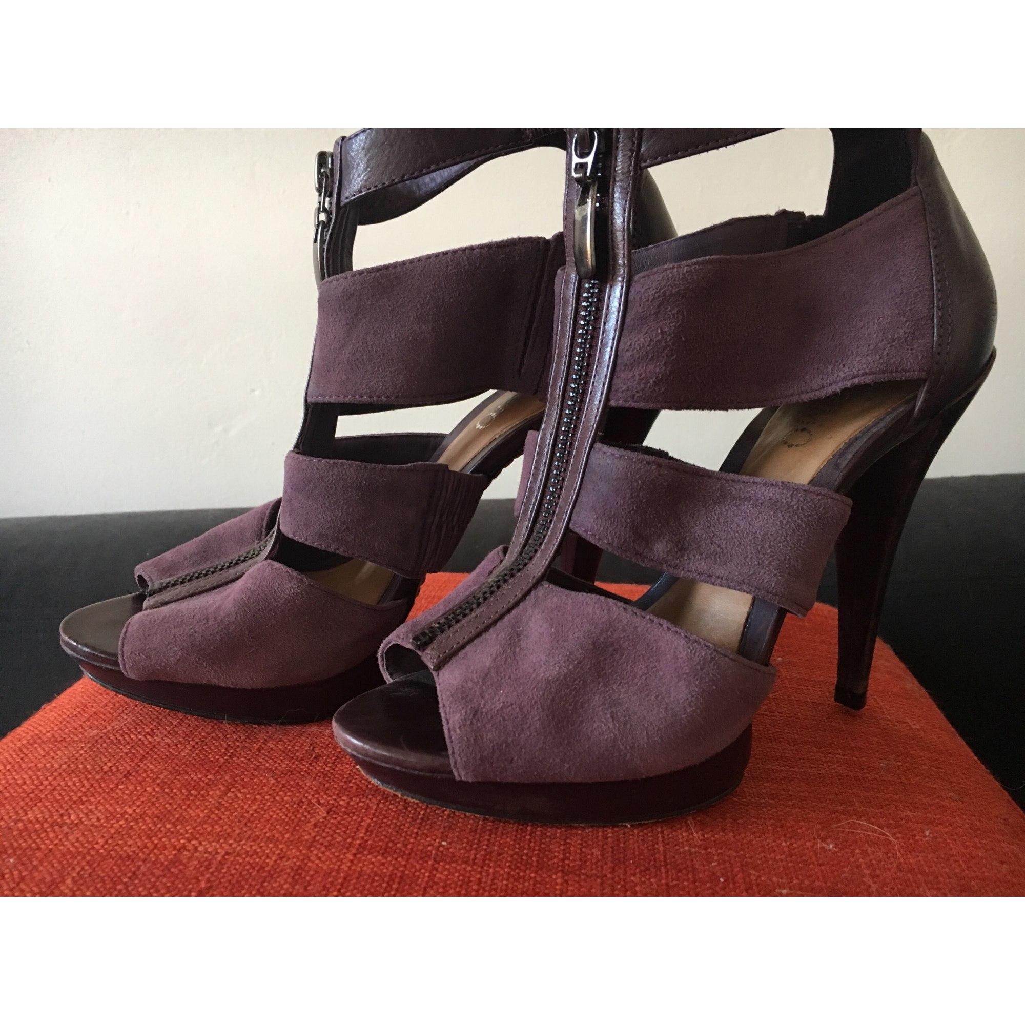Sandales Cosmoparis 38 Violet 6909810 À Talons EDIYW2H9