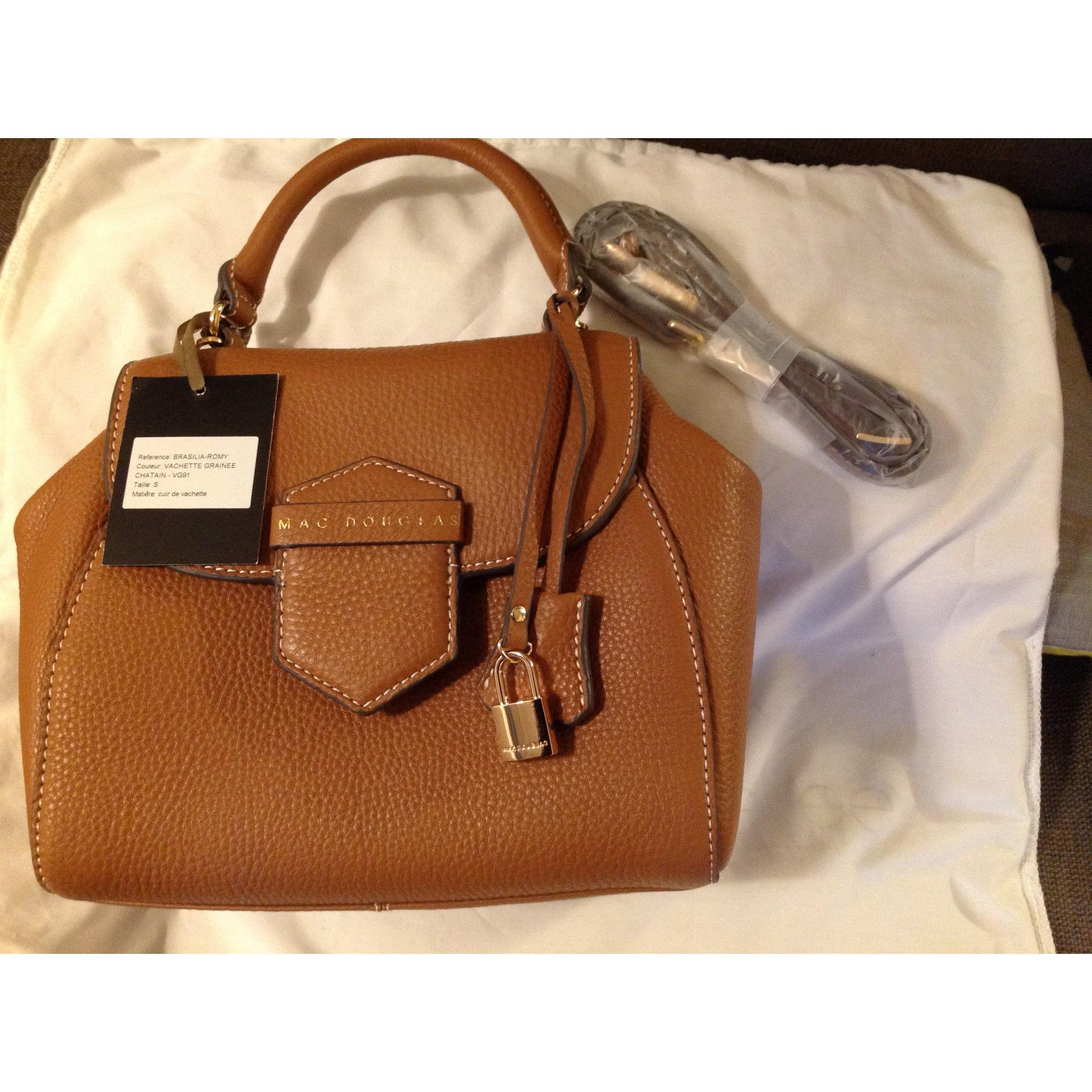 a610b5fa05e Sac à main en cuir MAC DOUGLAS marron vendu par Nathalie 679541081 ...