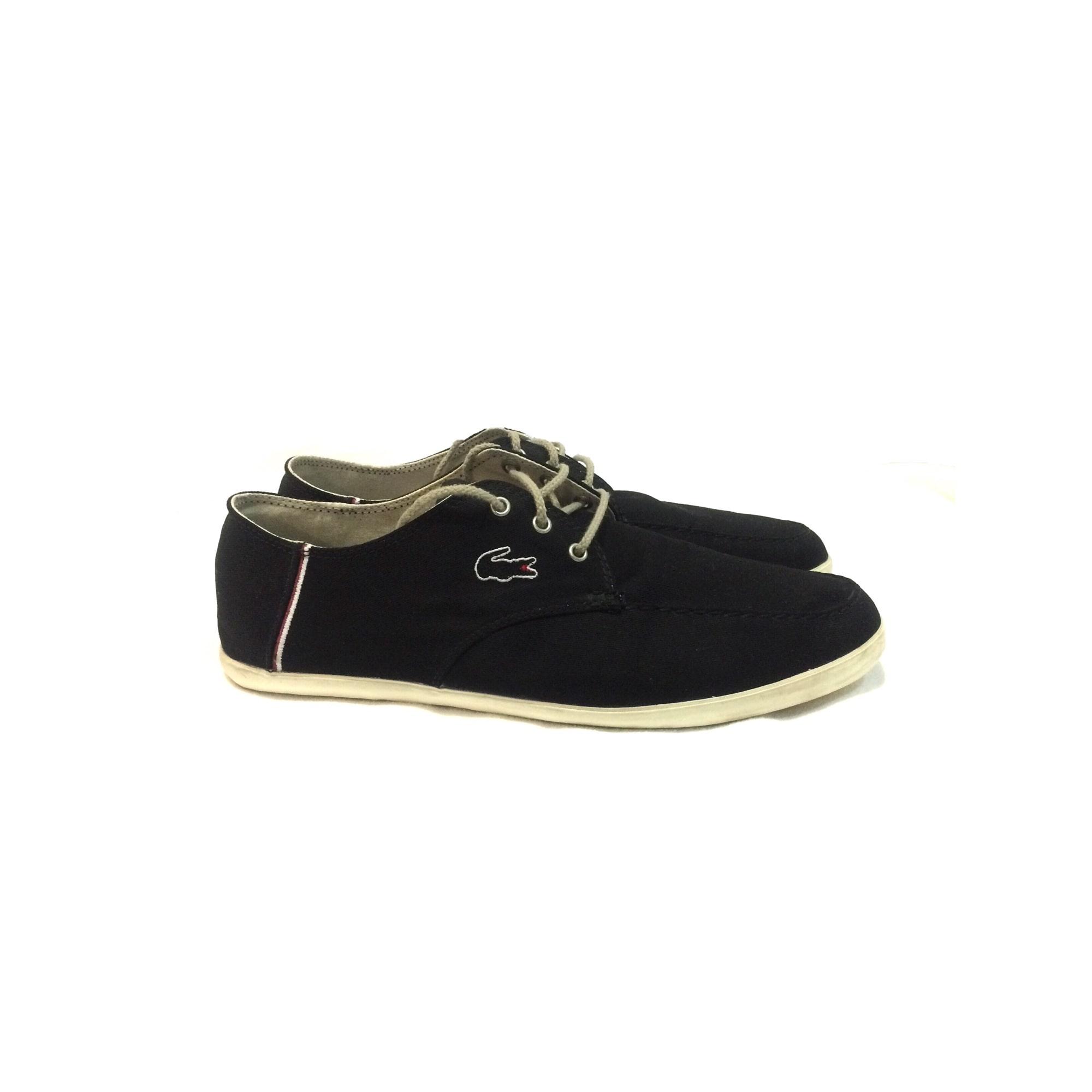 Par Lacoste À Lacets Chaussures 45 Noir 6911443 Vendu Vic6 qSUzpMV