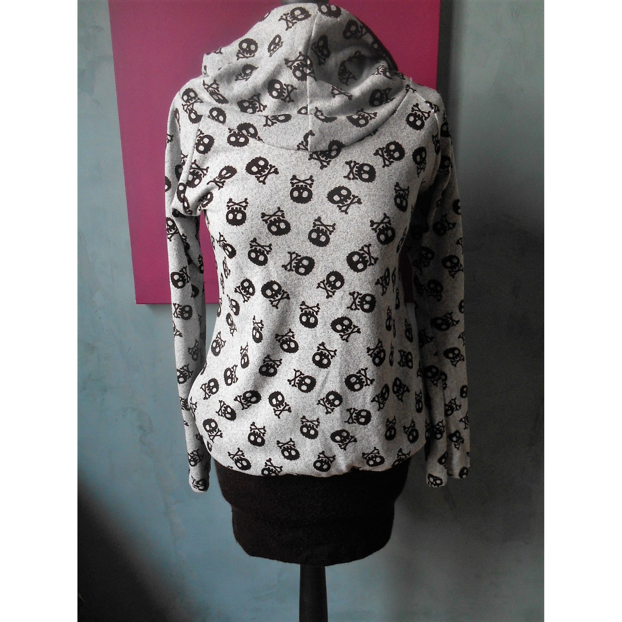 Pull tunique FASHION IN STYLE Gris, anthracite