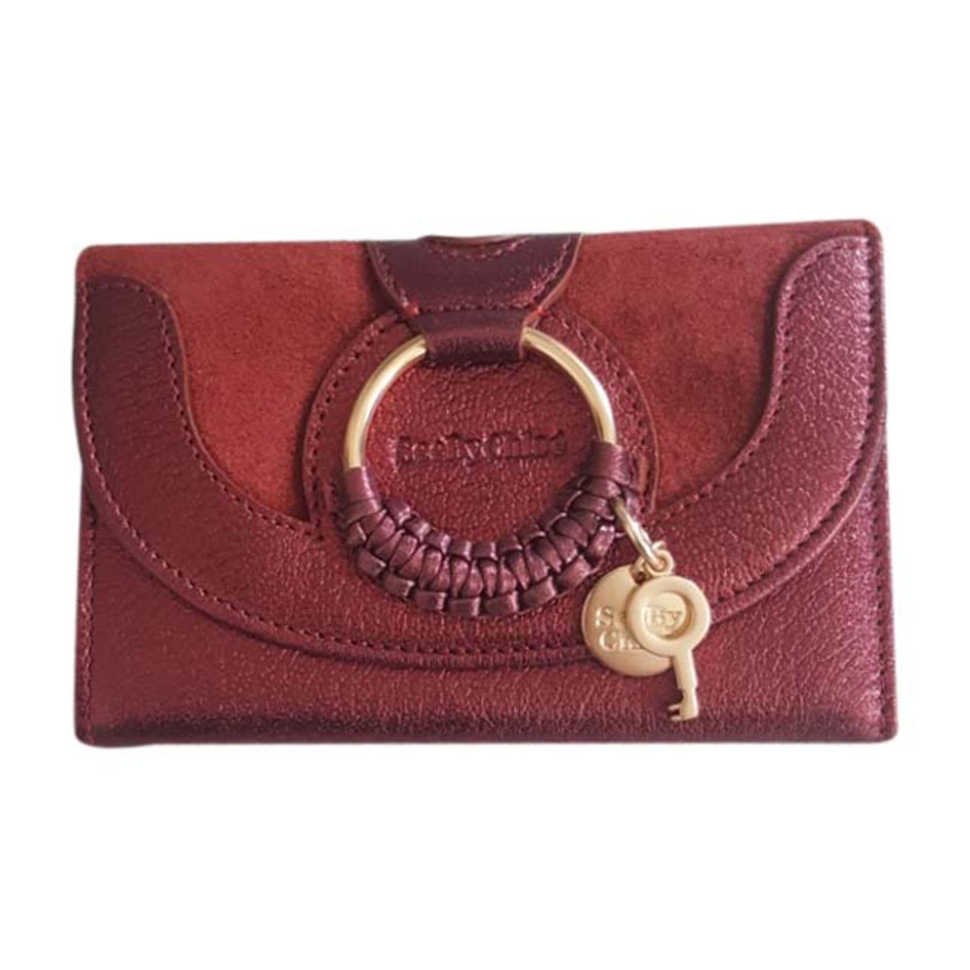 Portefeuille SEE BY CHLOE rouge vendu par D amatalar3457966 - 6928940 56ea8cff8ec