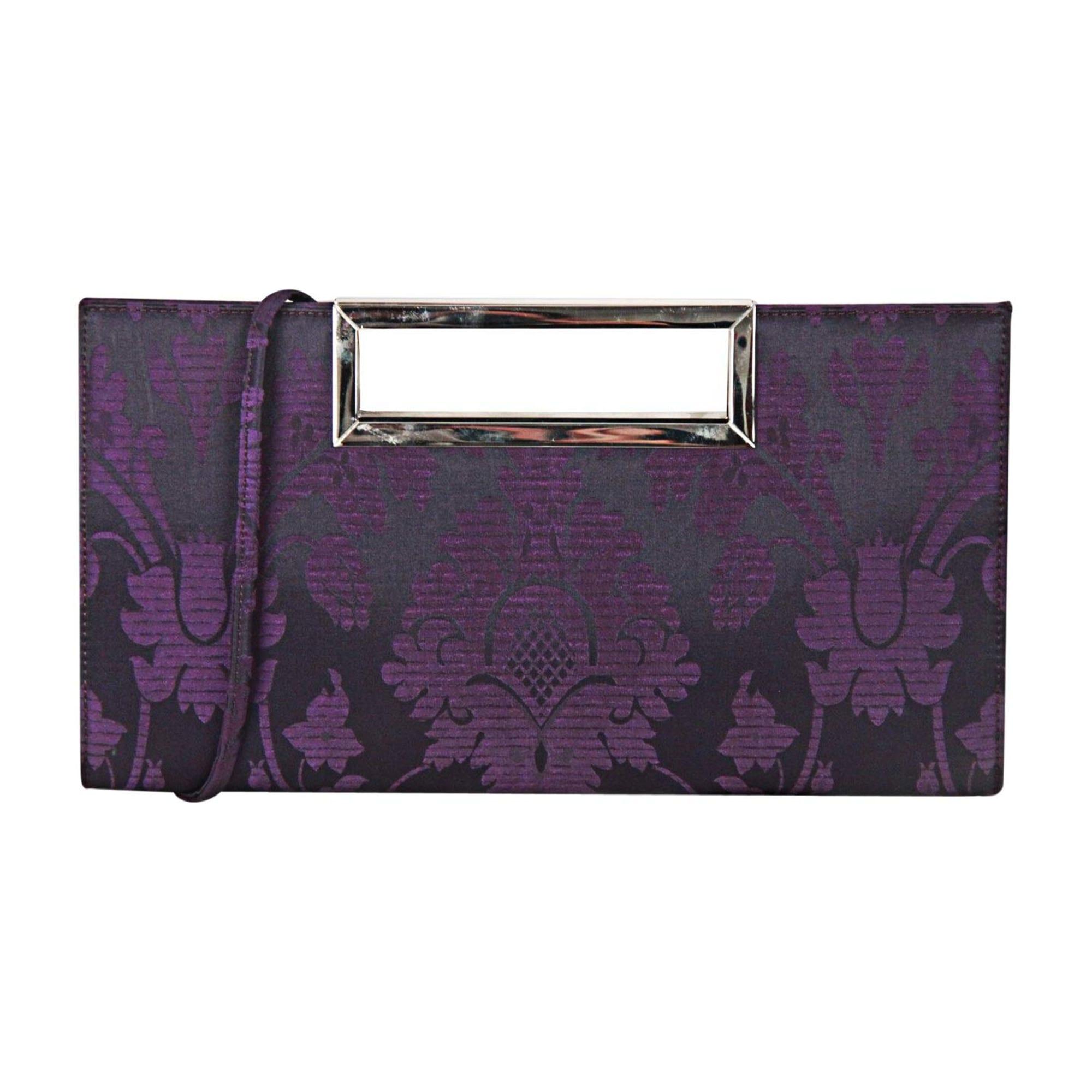 Sac pochette en tissu STUART WEITZMAN other violet