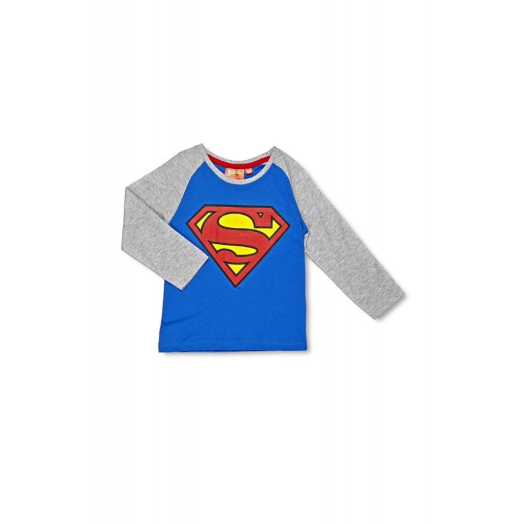 17b1d9f51c65c Sweat SUPERMAN 7-8 ans bleu - 6934697