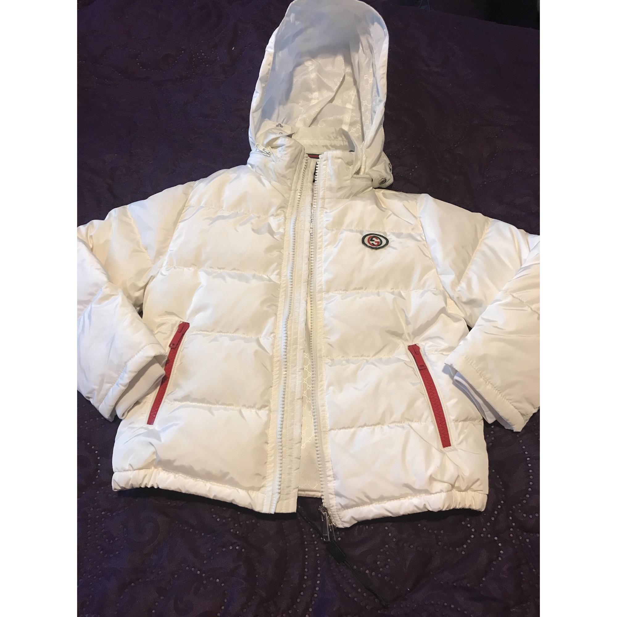 Down Jacket GUCCI White, off-white, ecru