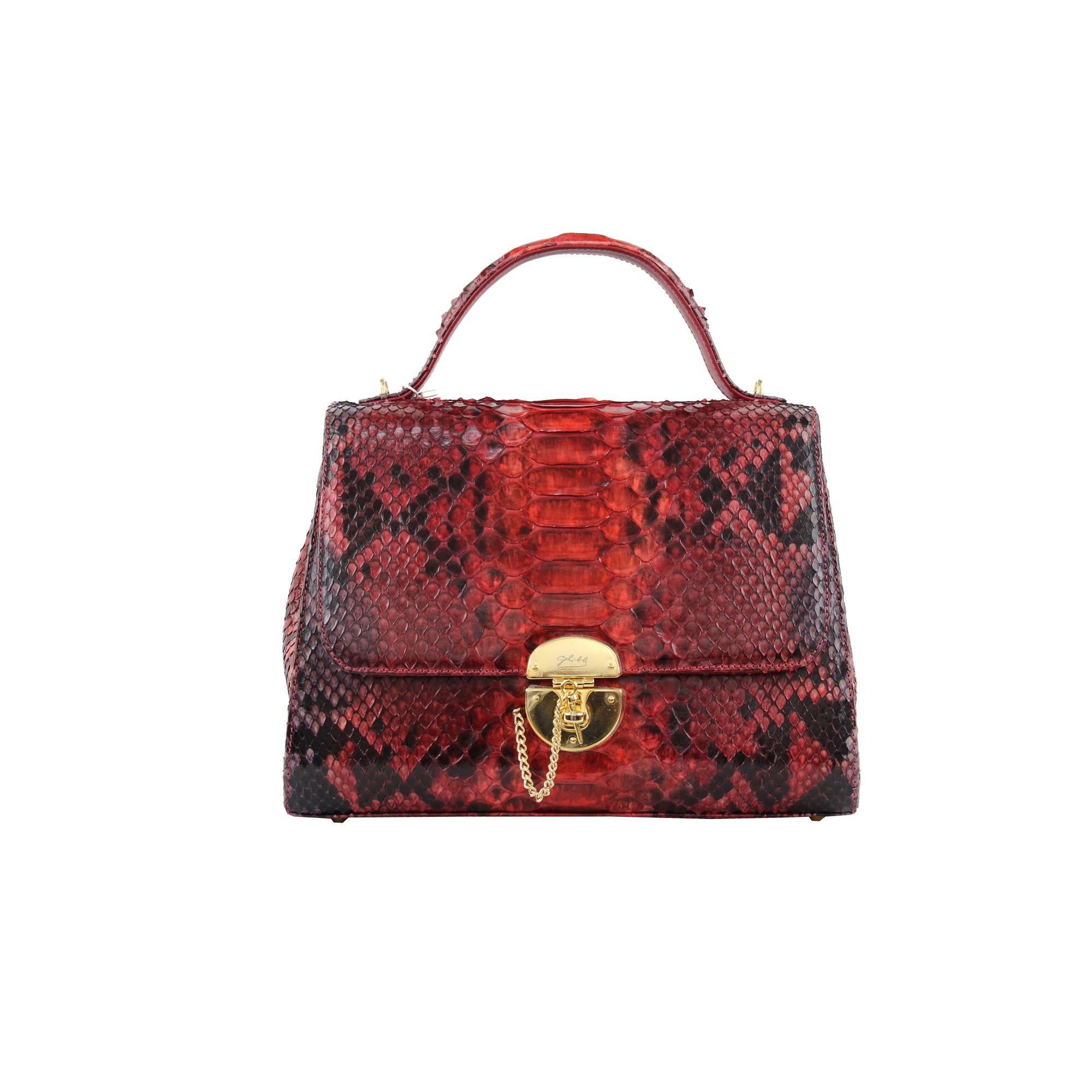 f0cb99a8bf1a Sac à main en cuir GHIBLI rouge vendu par The florence boutique ...