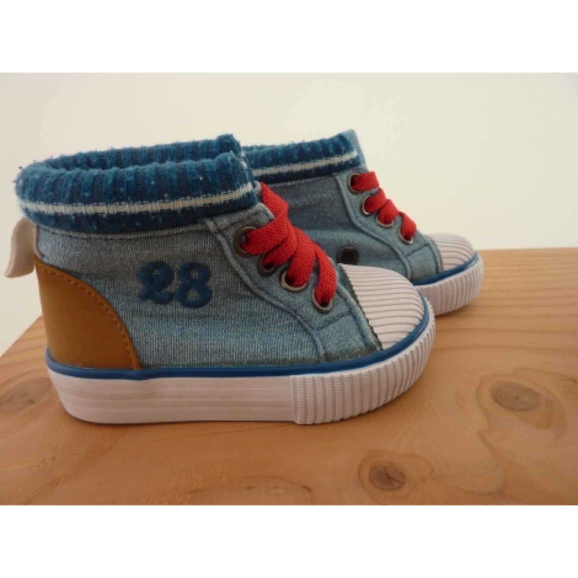 Baskets DISNEY Bleu, bleu marine, bleu turquoise