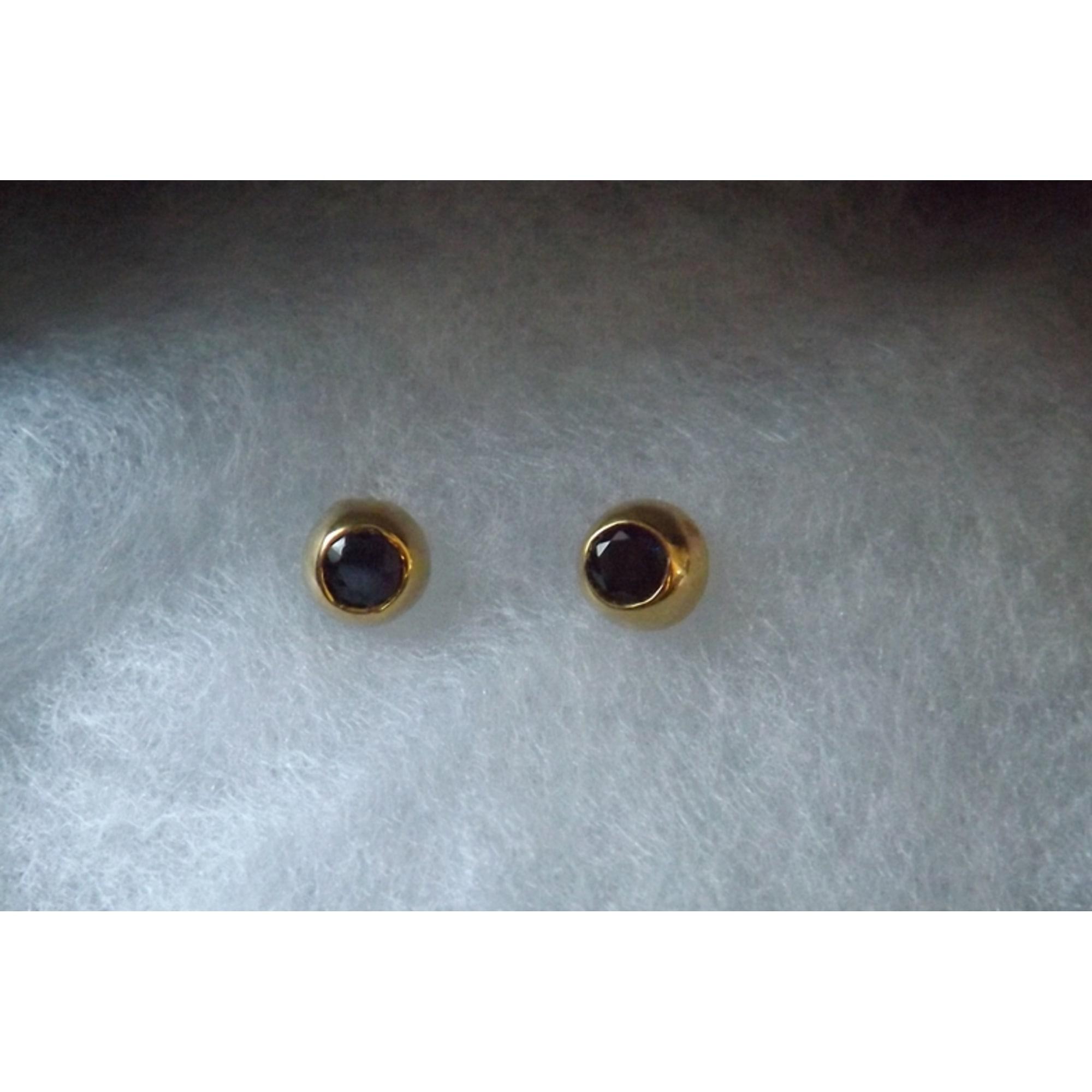 Boucles d'oreilles MURAT plaqué or doré