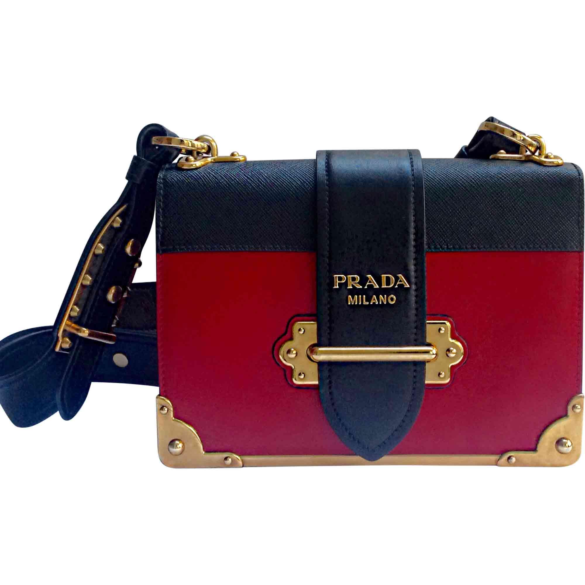 Sac en bandoulière en cuir PRADA rouge vendu par Orelilona - 6941337 c8089b29c73