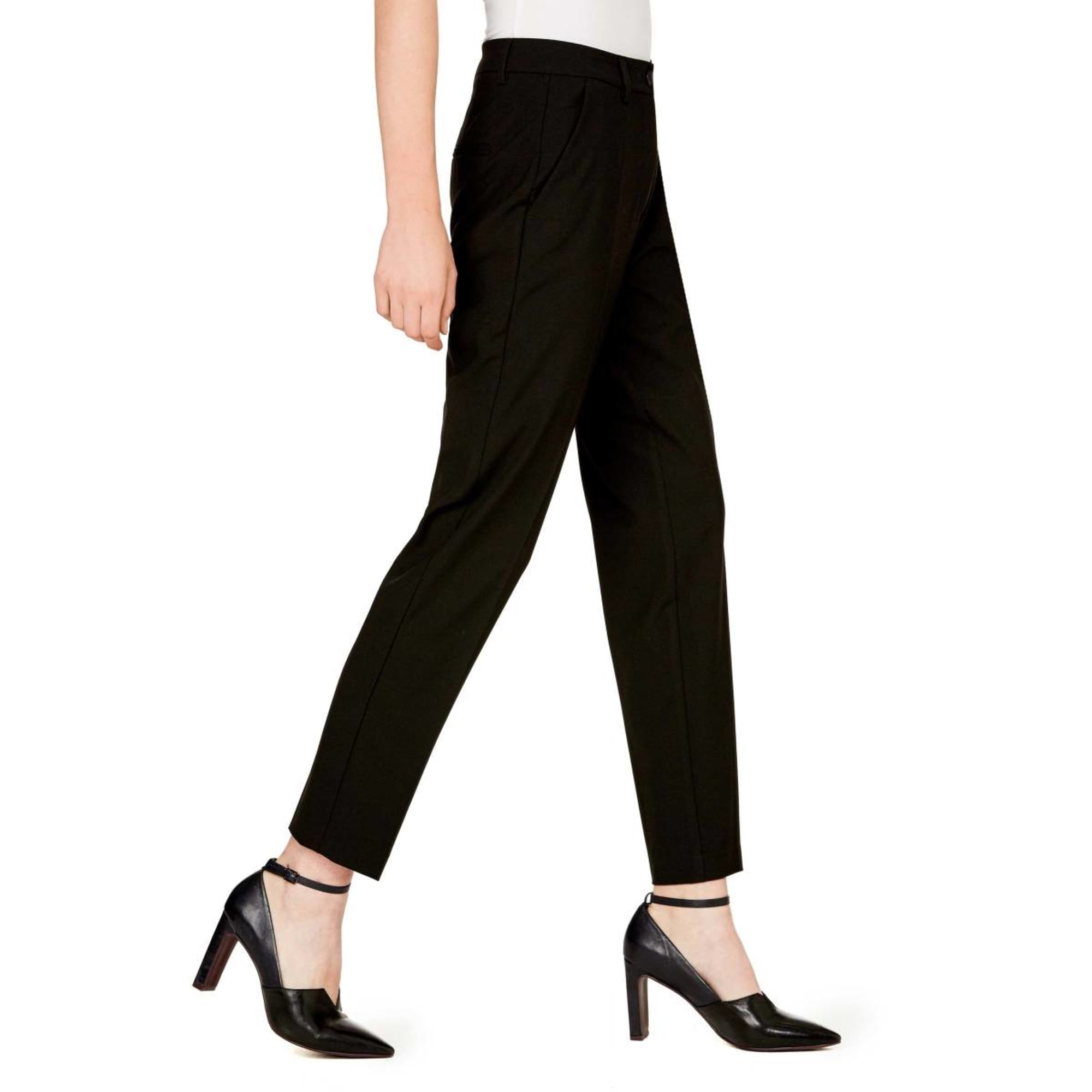 Pantalon slim, cigarette UNITED COLORS OF BENETTON Noir