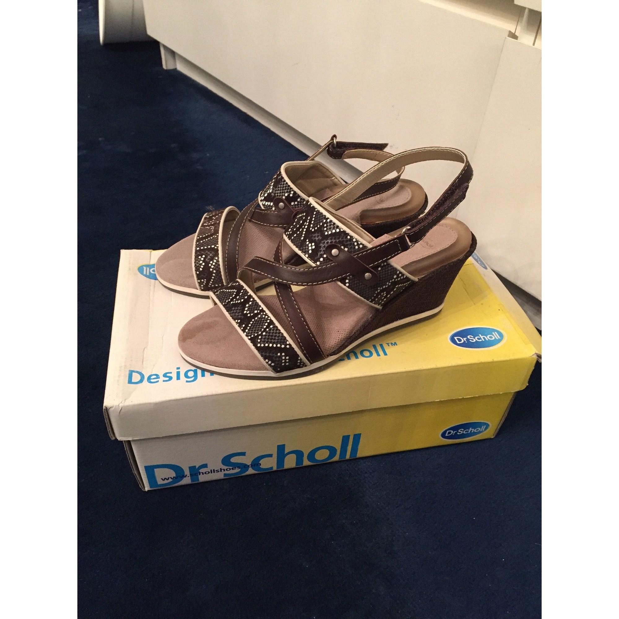 c15af58bc17209 Sandales compensées SCHOLL 36 beige vendu par Alex76 - 6950457