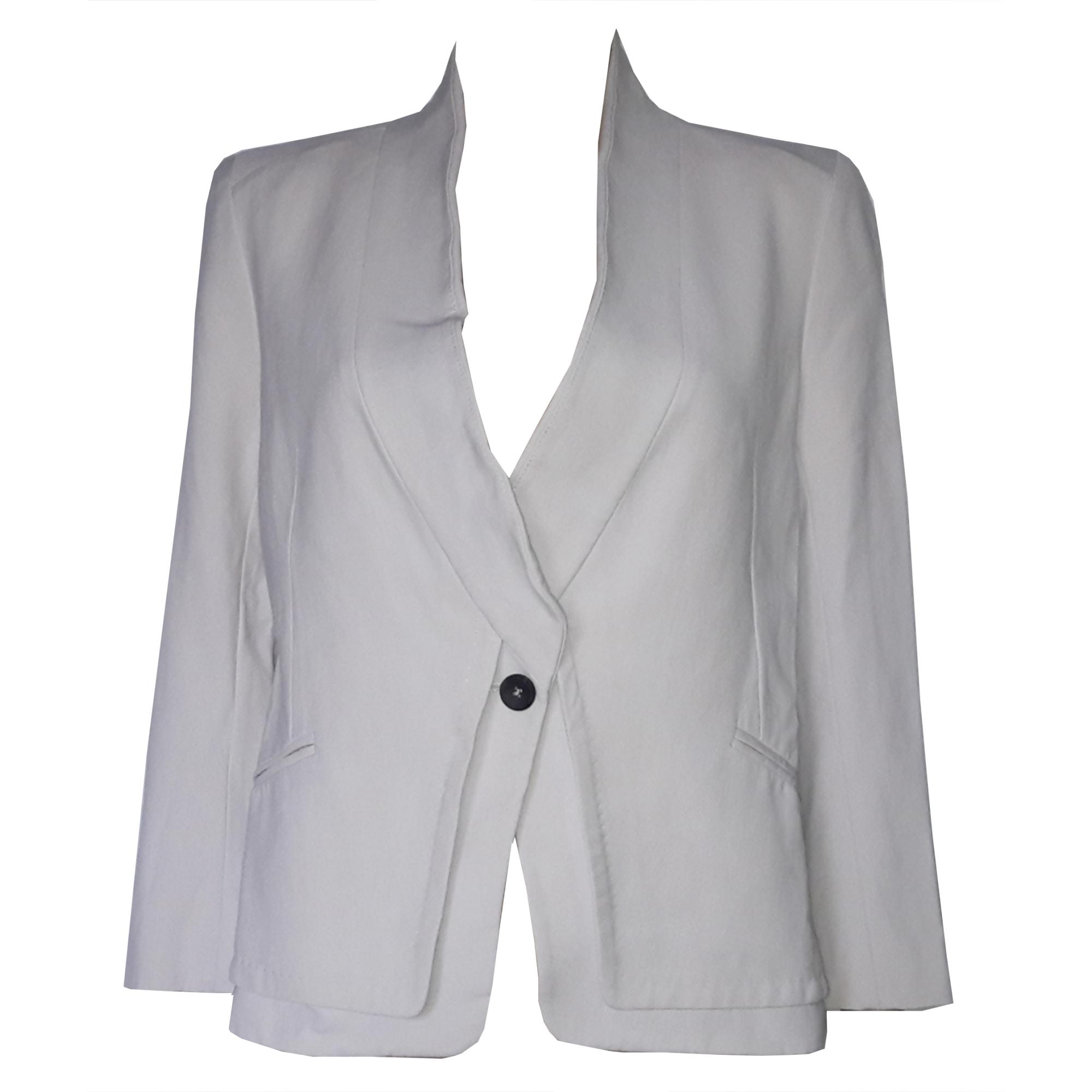 Veste Des Cotonniers Comptoir Blazer Tailleur 38 Blanc T2 m 6Hdf1w