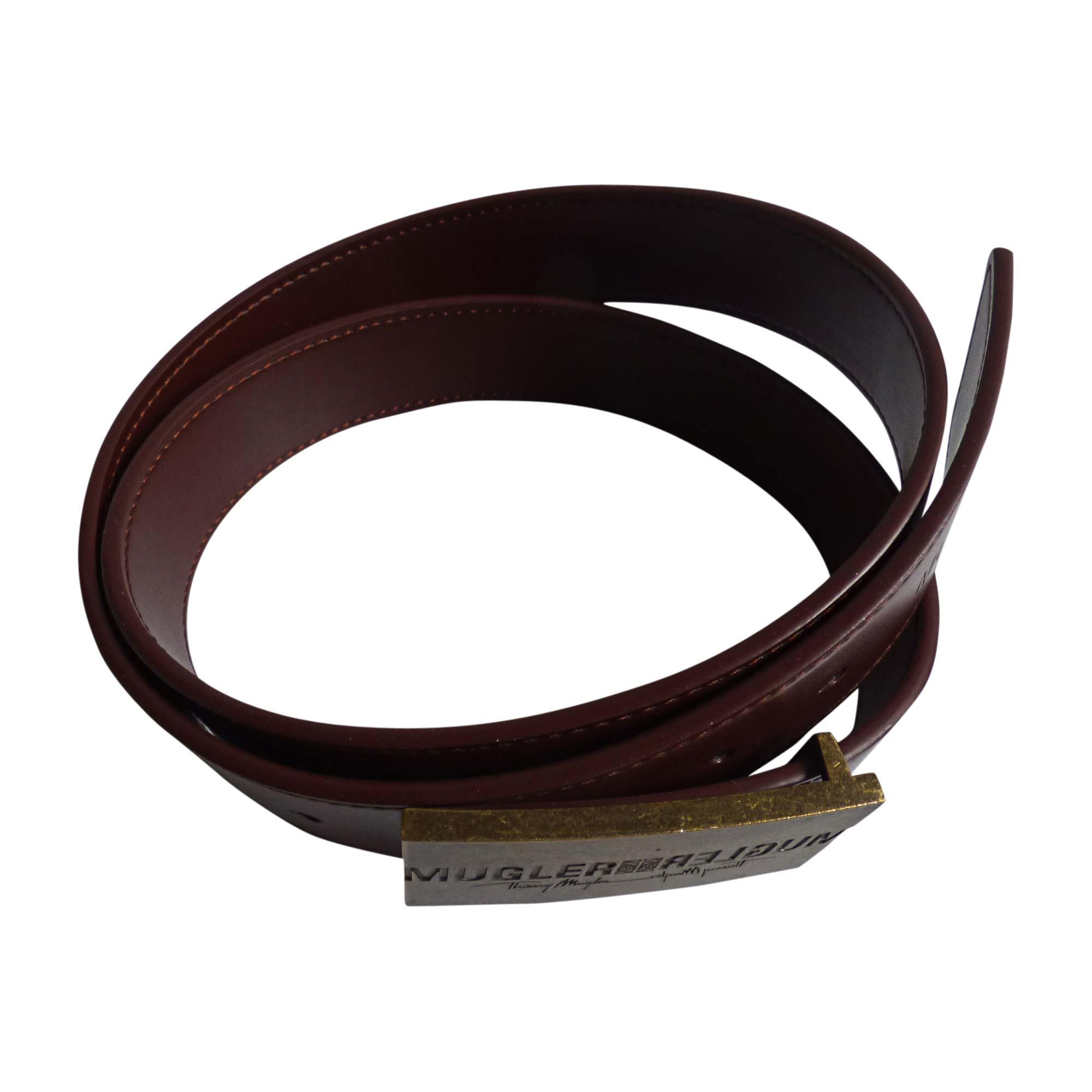 Cintura THIERRY MUGLER Marrone