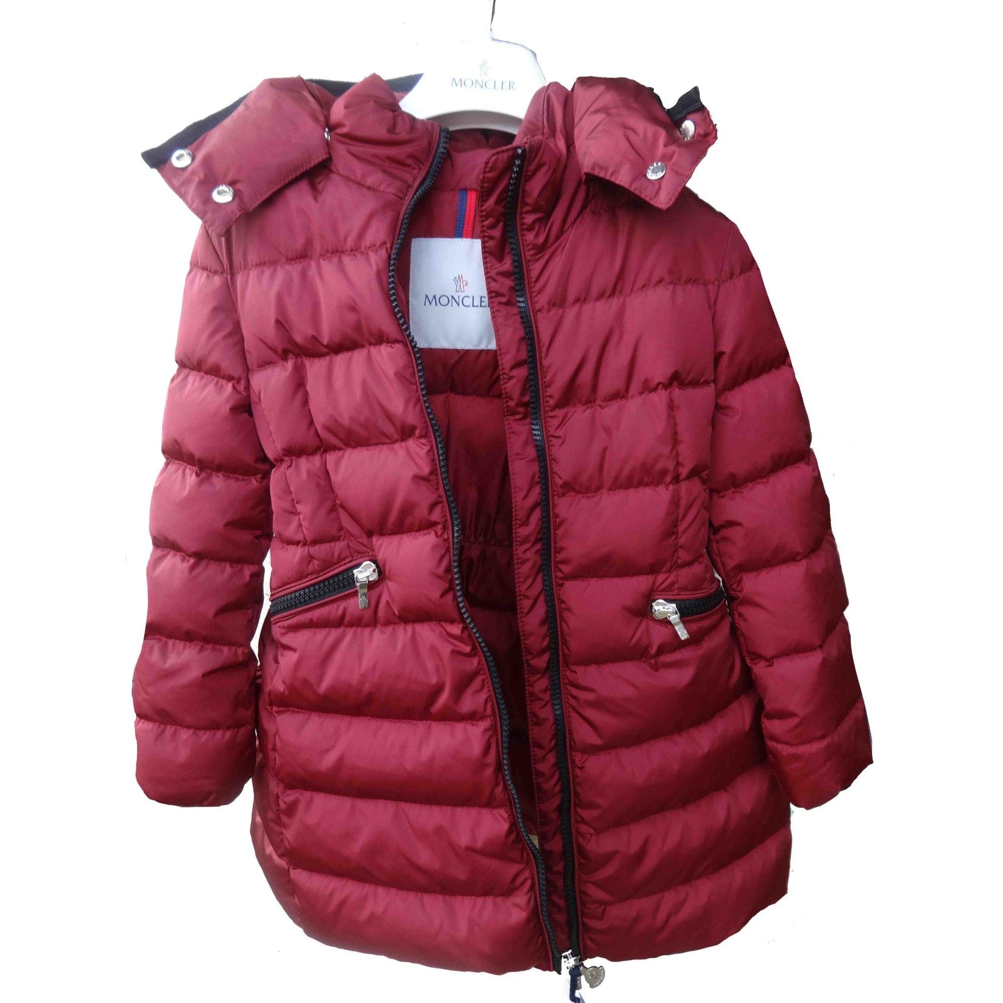 Doudoune MONCLER 3-4 ans rouge vendu par Purebliss - 6968693 bc32f56b649