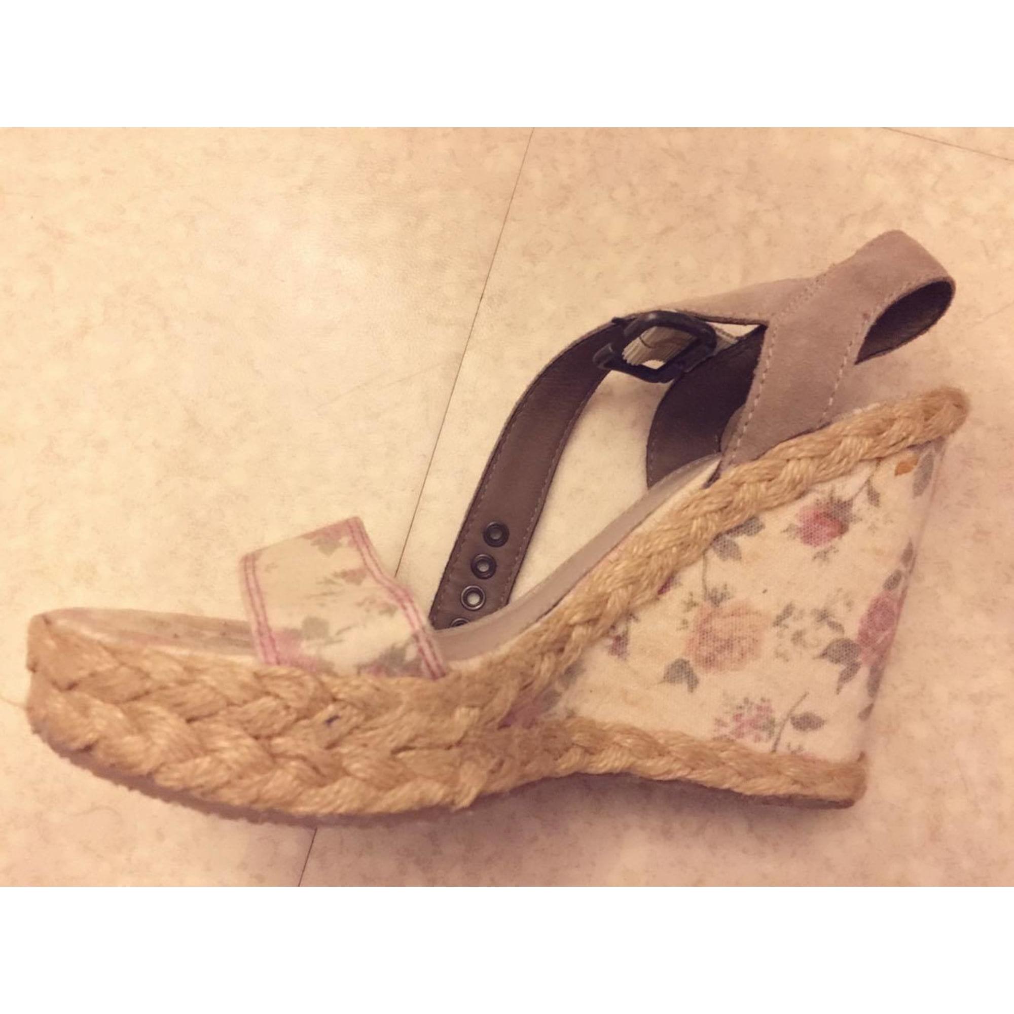 Sandales compensées ESPRIT Fleur b88a10298b6f