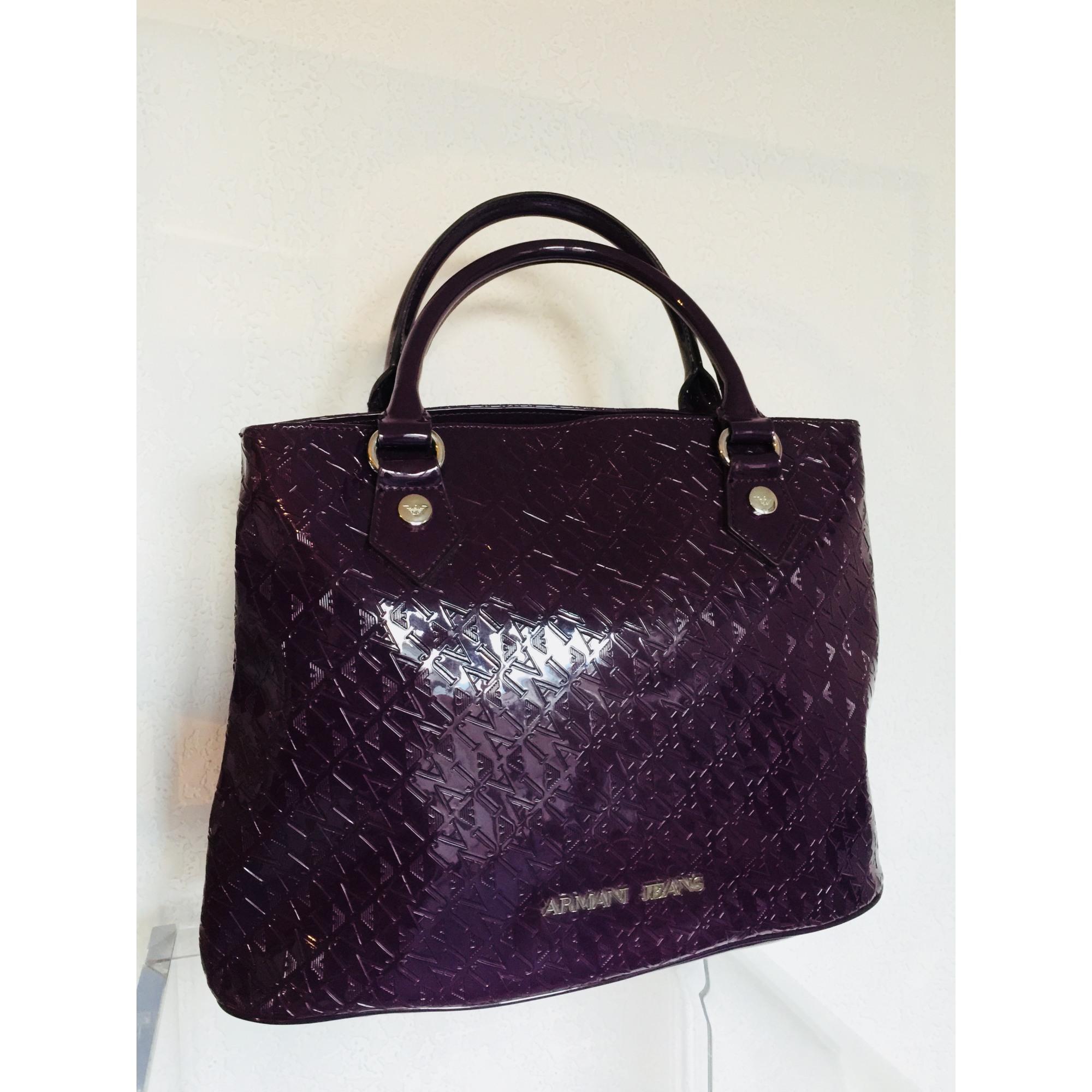 Sac à main en cuir ARMANI JEANS violet vendu par Isula dressing ... f4eaae1fbc5