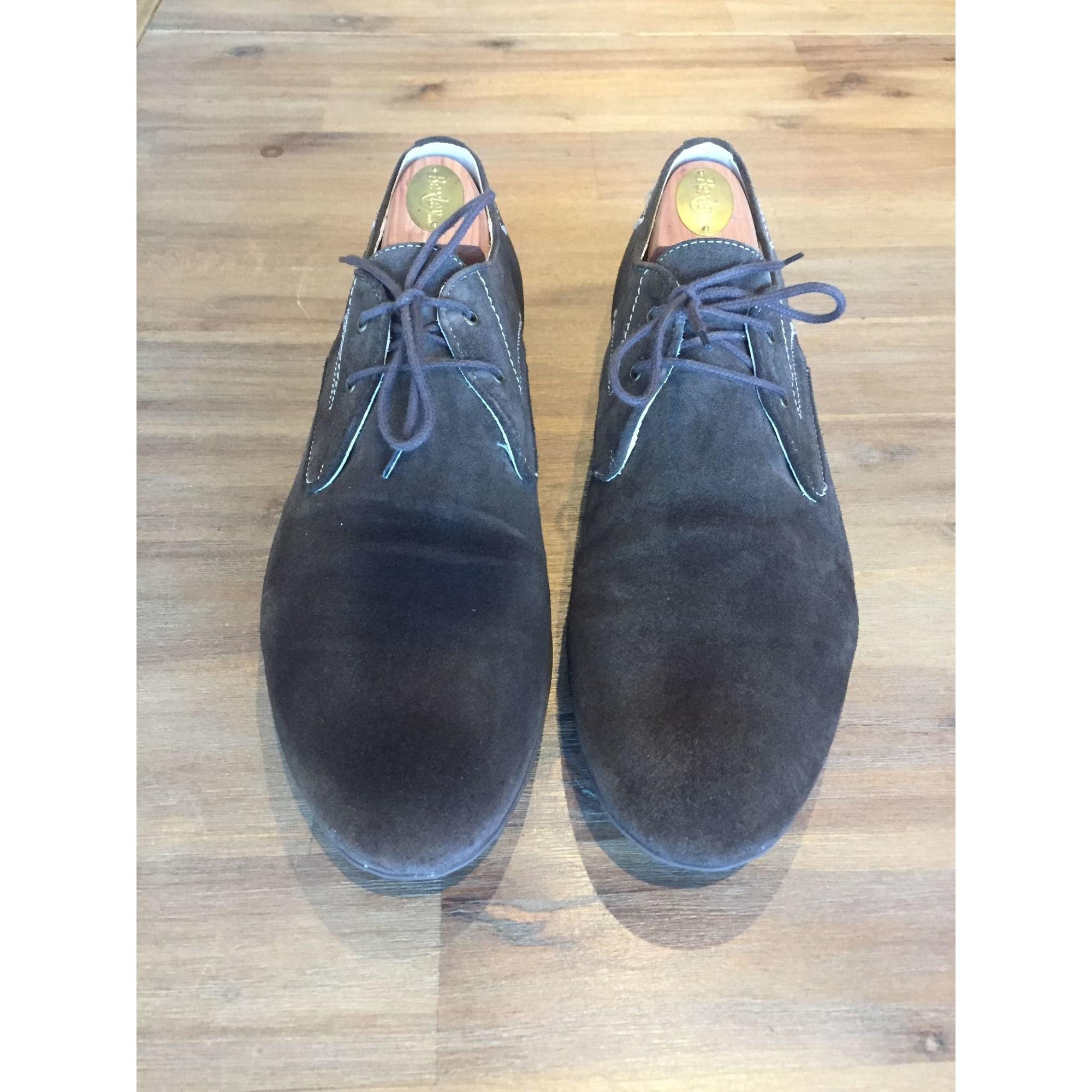 Chaussures à lacets GEOX 43 marron - 6982956 30d69f1e6a4f