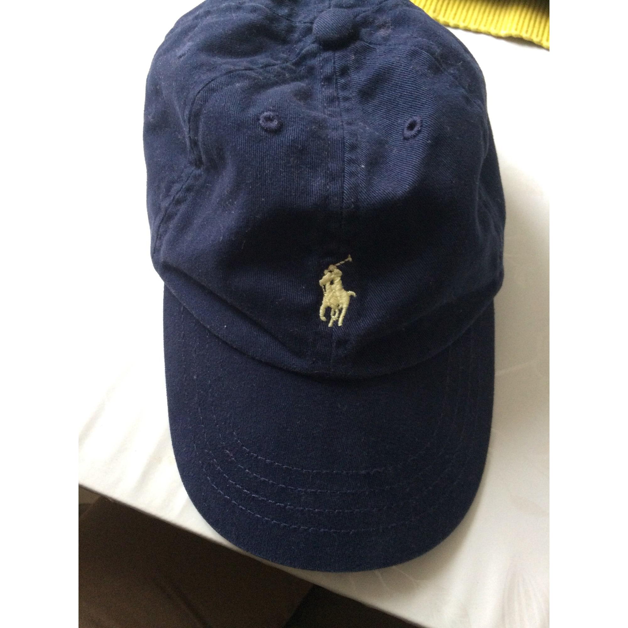 8bb23f08b87 Casquette RALPH LAUREN 3-4 ans bleu vendu par Chiffon chineuse - 6985741
