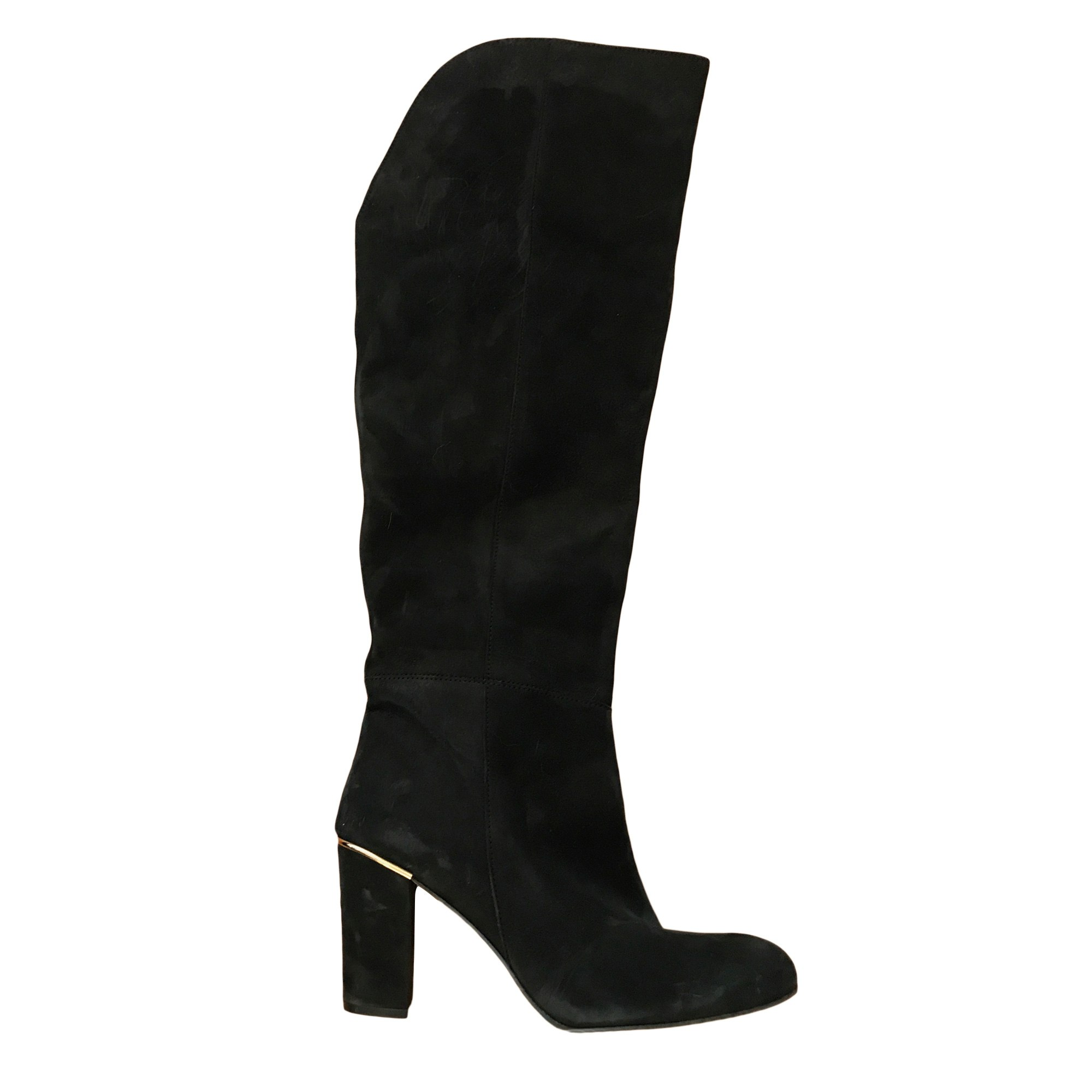 High Heel Boots MELLOW YELLOW Black
