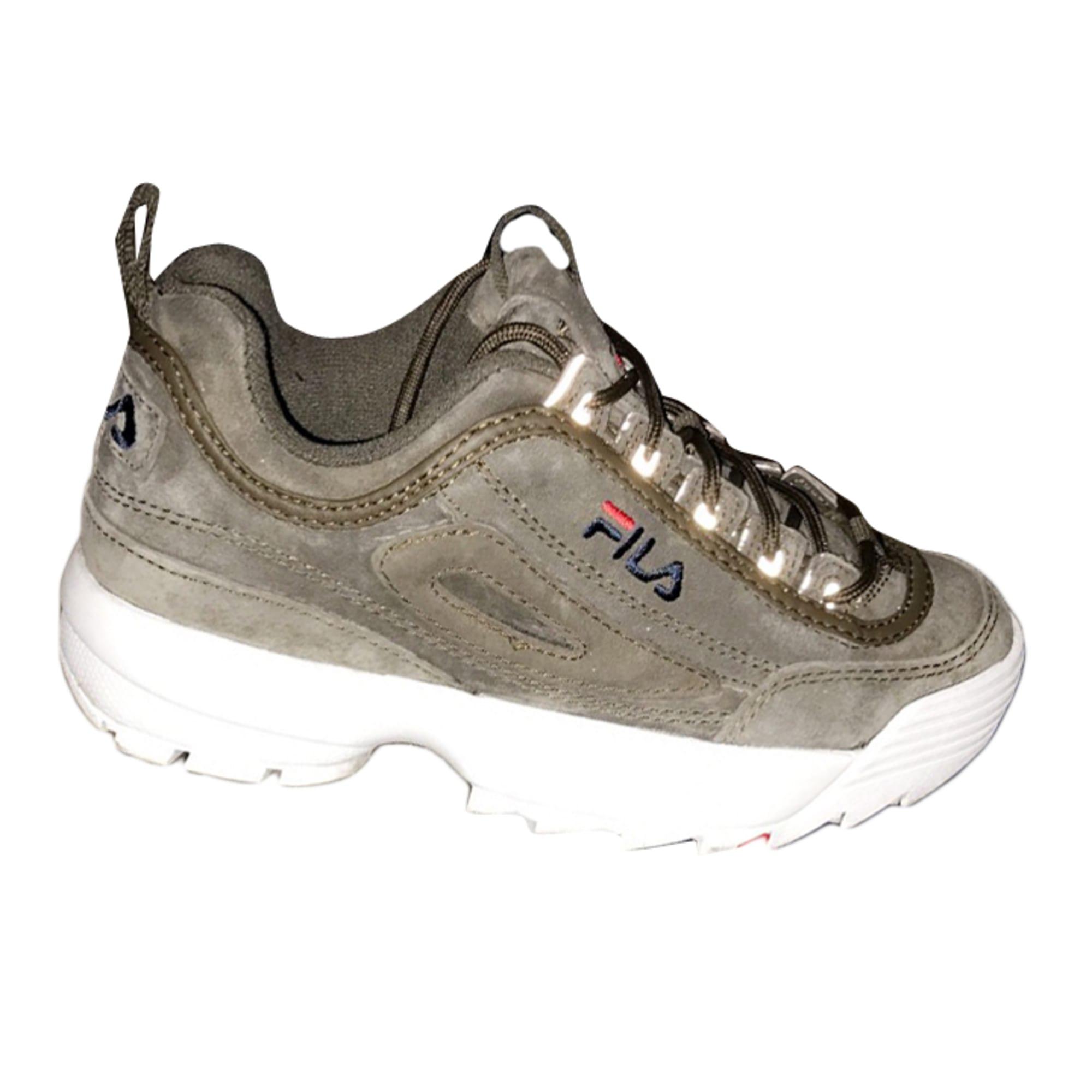 fila femme chaussure kaki