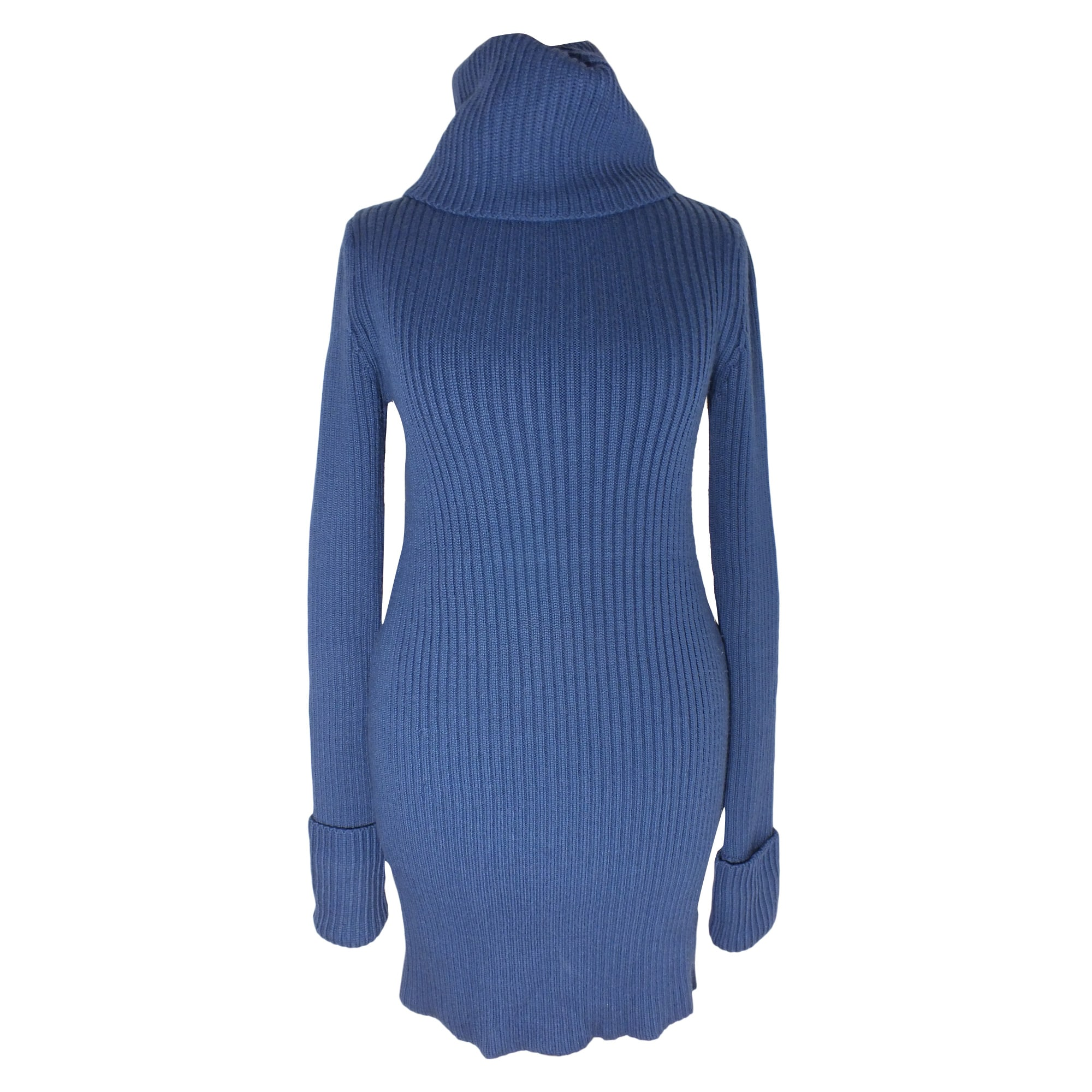Robe tunique comptoir des cotonniers 36 s t1 bleu 6992295 - Tunique comptoir des cotonniers ...