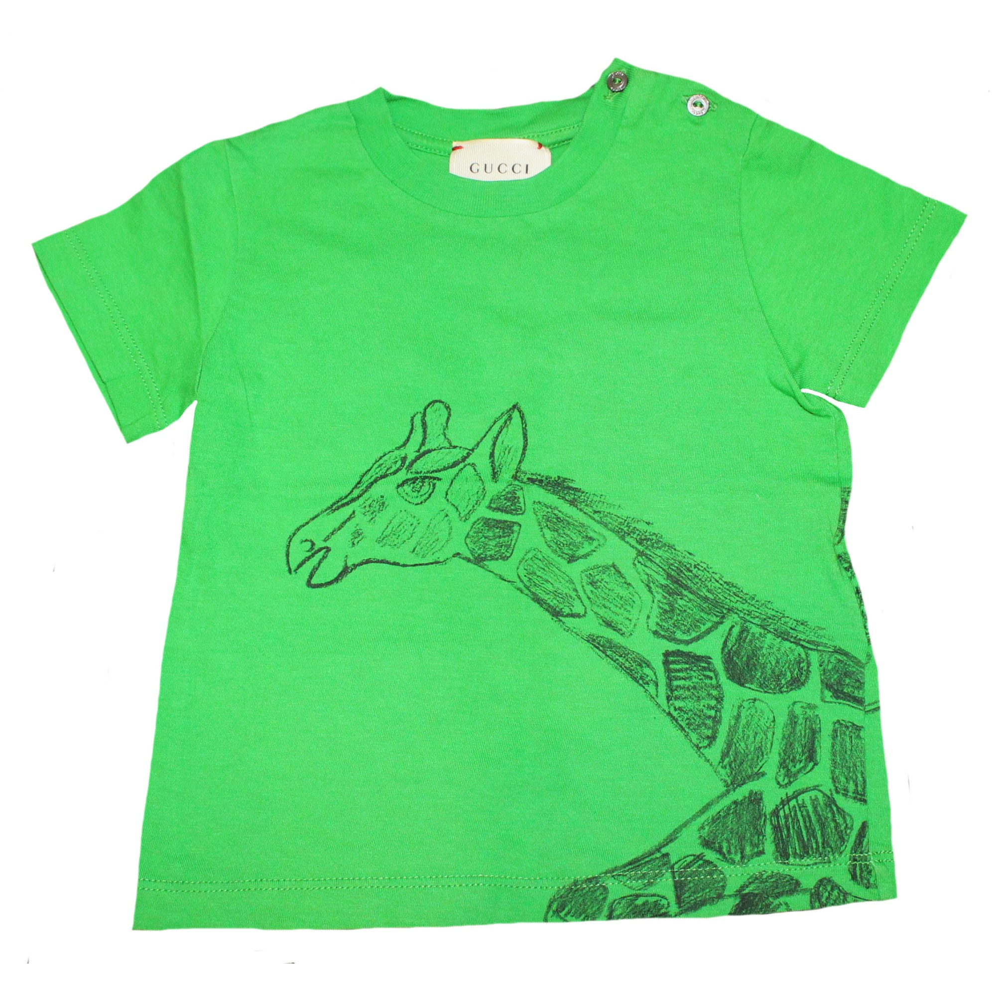 12a73041 Top, tee shirt GUCCI 12 mois vert - 6995106
